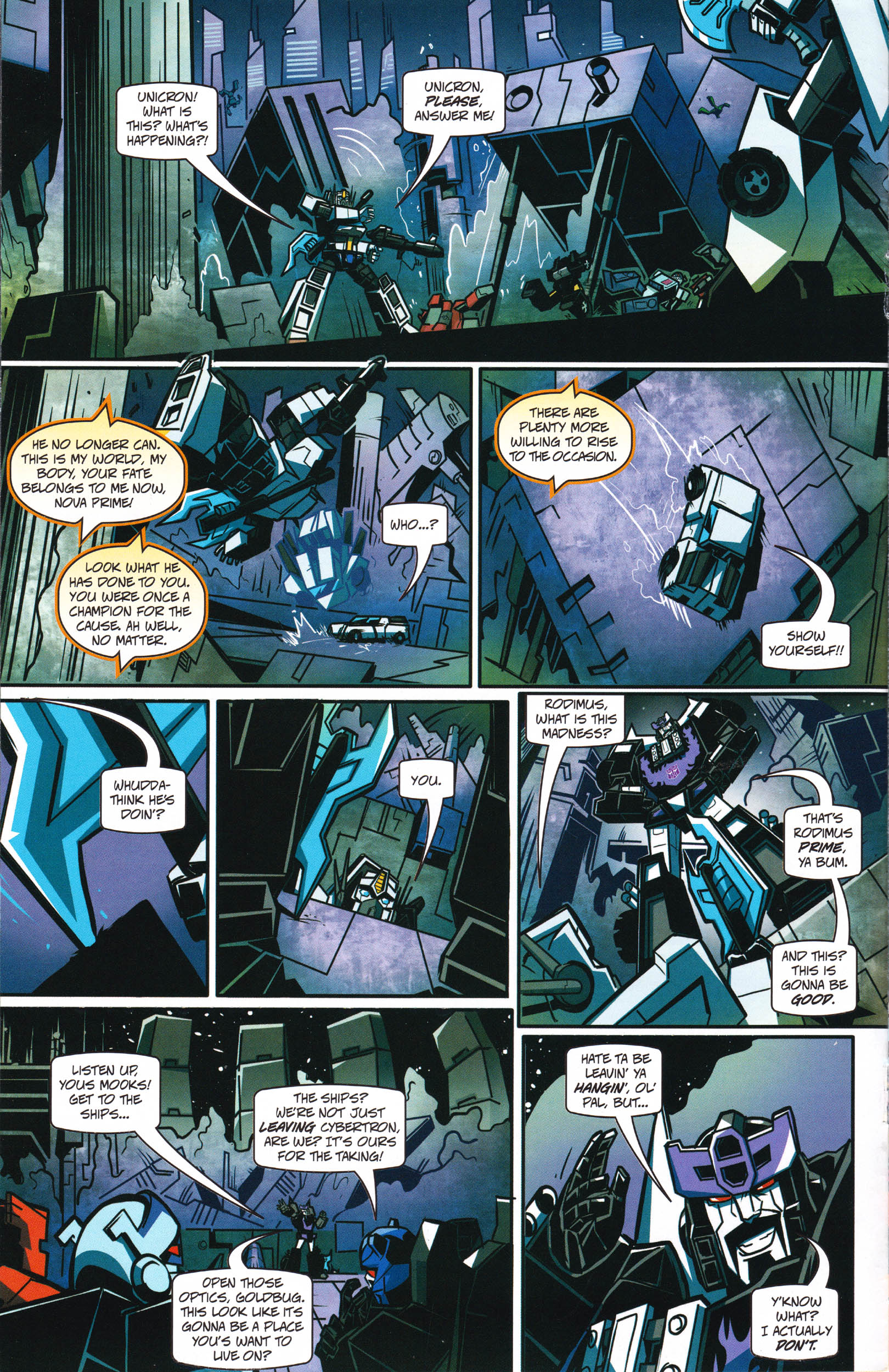 Read online Transformers: Collectors' Club comic -  Issue #66 - 6