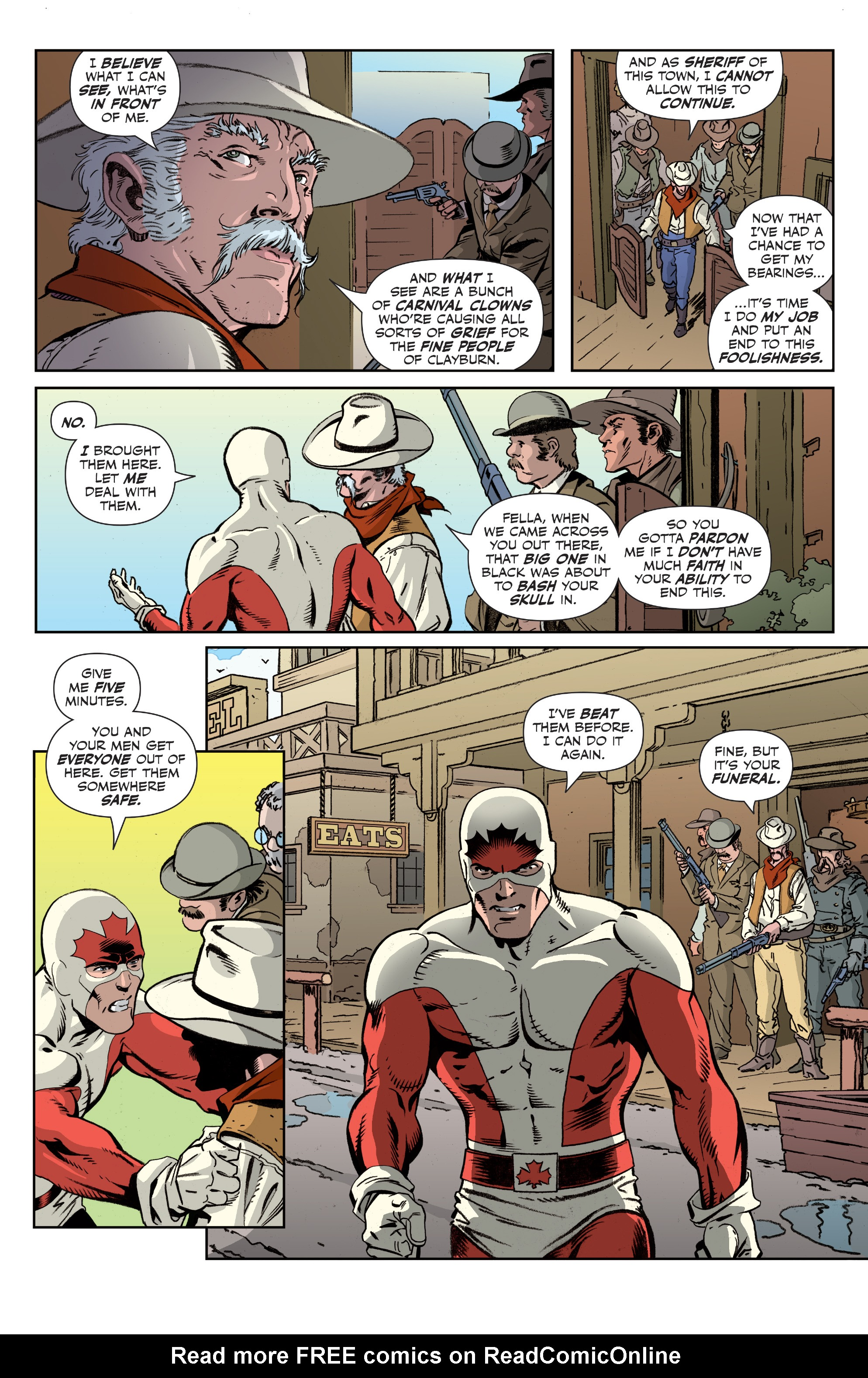 Read online All-New Classic Captain Canuck comic -  Issue #2 - 11
