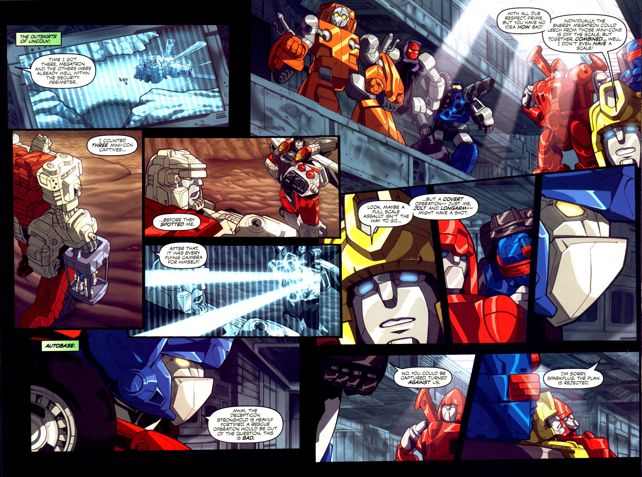 Read online Transformers Armada comic -  Issue #6 - 15