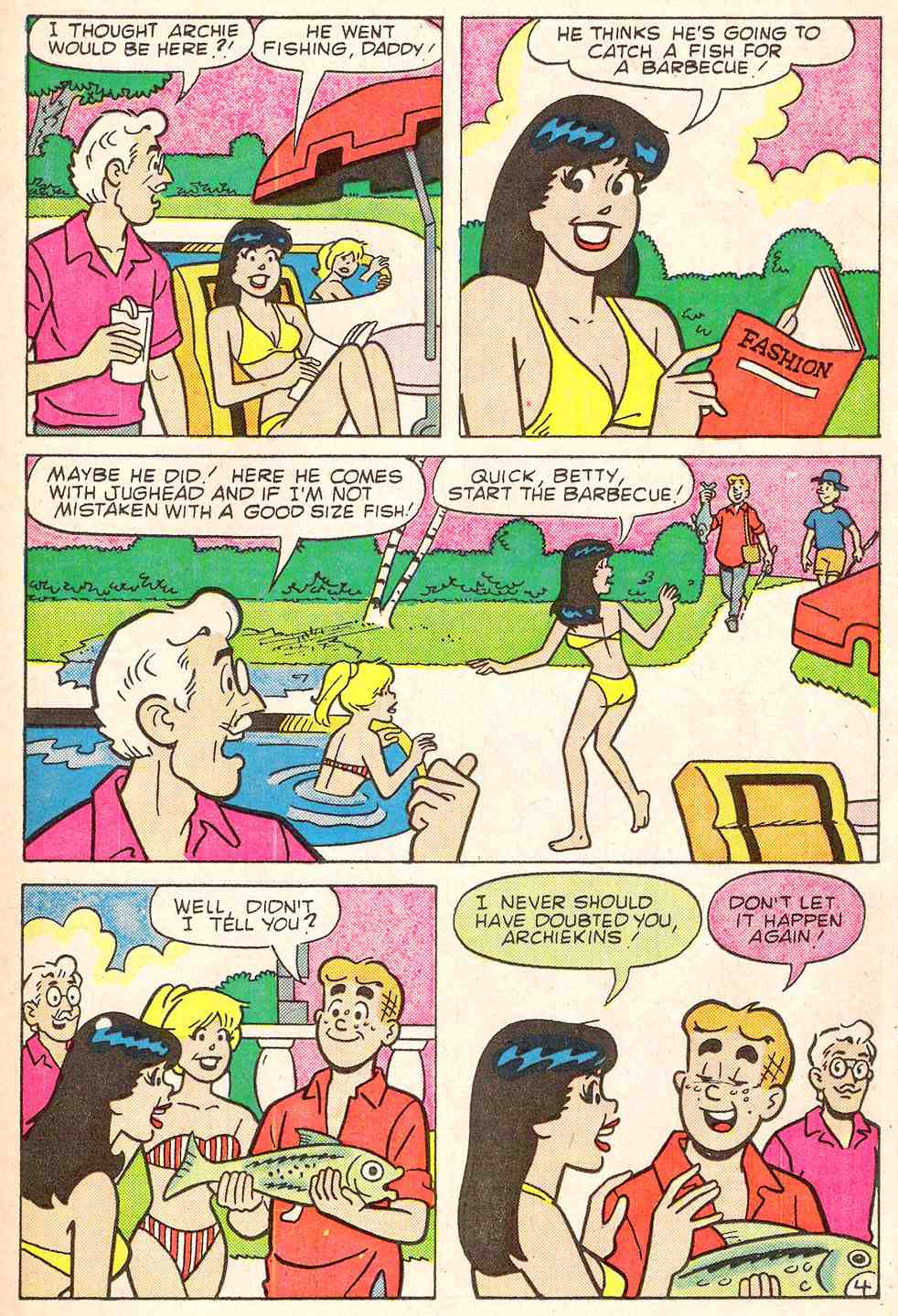 Read online Archie's Girls Betty and Veronica comic -  Issue #344 - 23