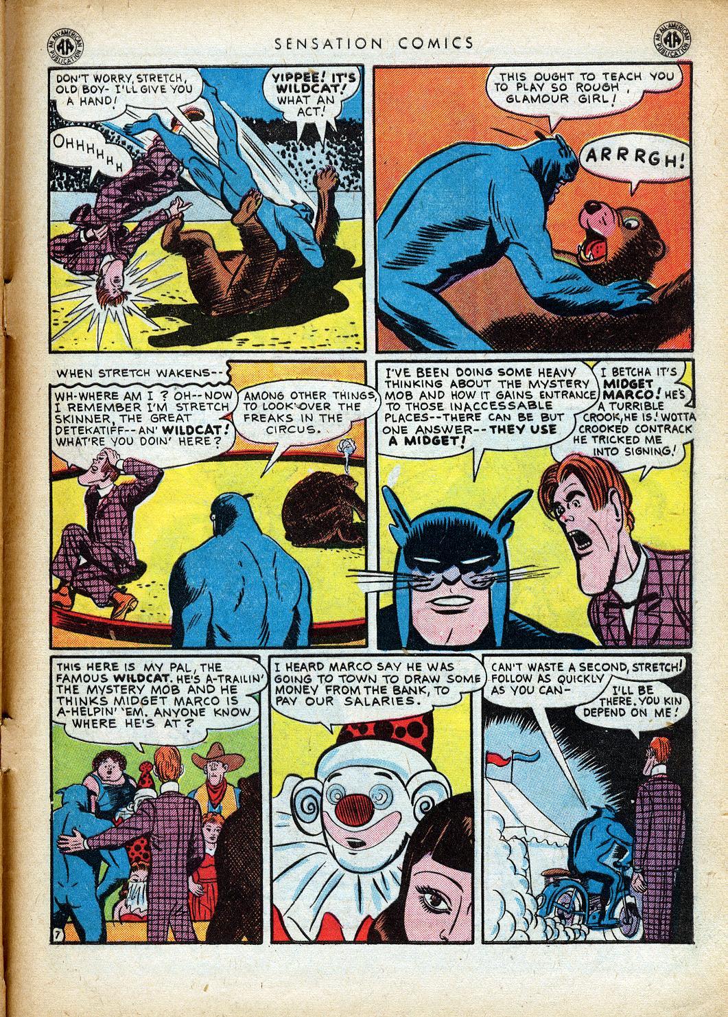 Read online Sensation (Mystery) Comics comic -  Issue #40 - 49