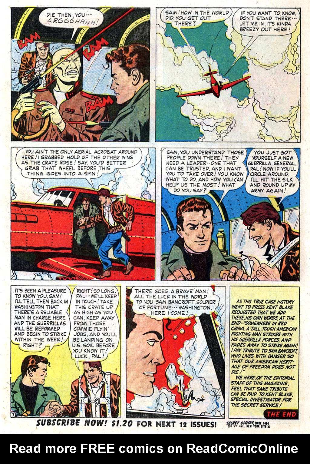 Kent Blake of the Secret Service issue 3 - Page 32