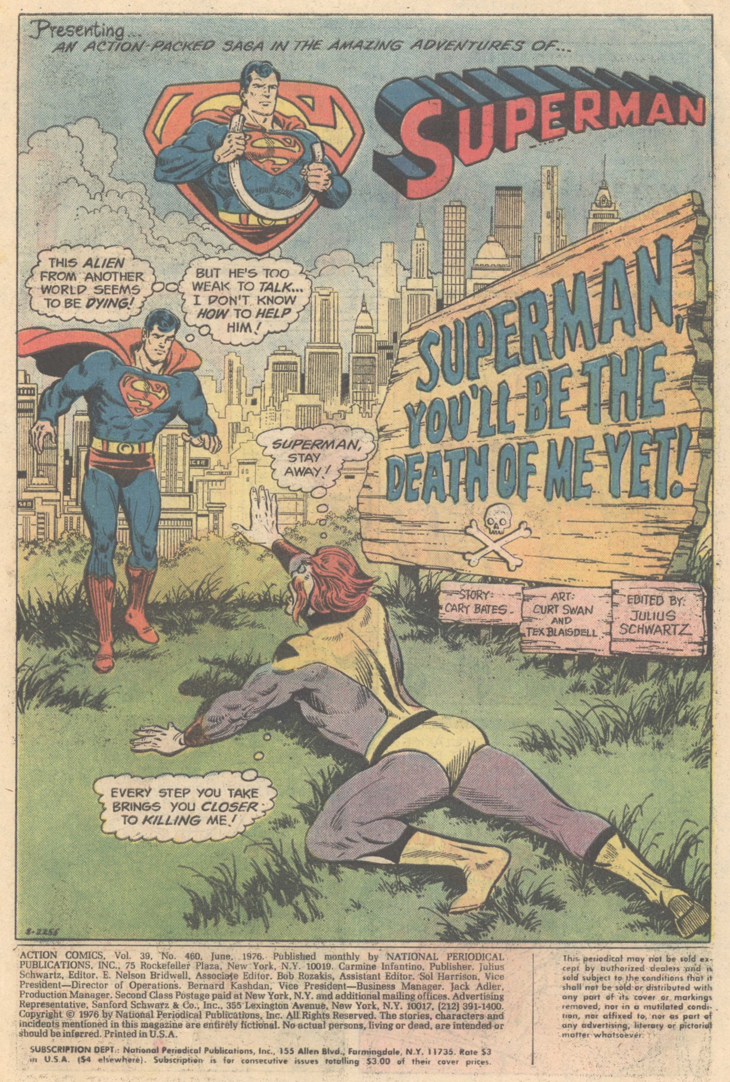 Read online Action Comics (1938) comic -  Issue #460 - 3