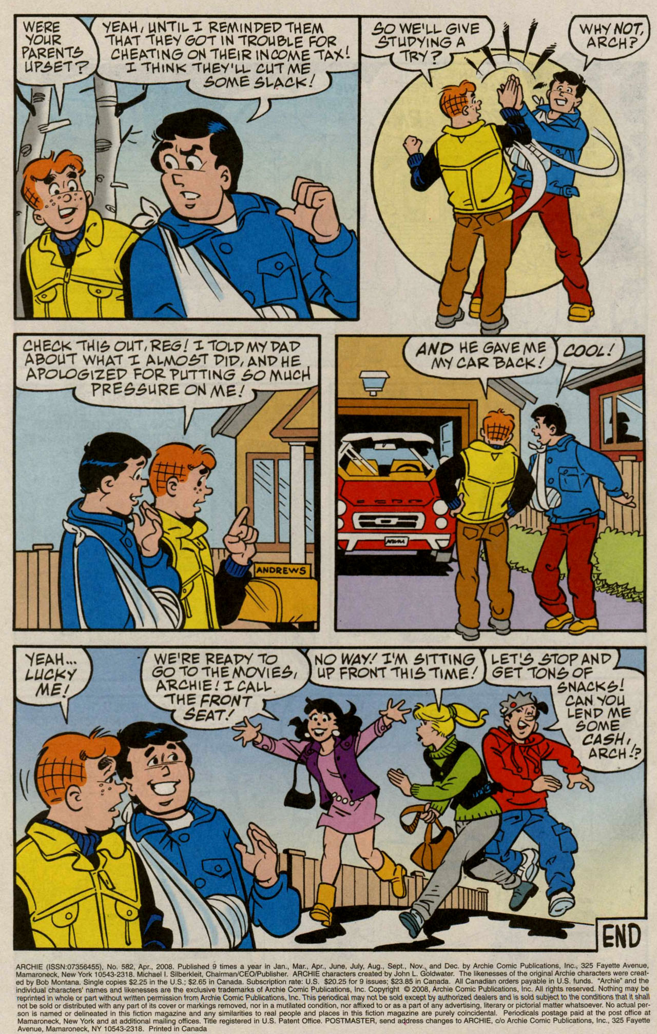 Read online Archie (1960) comic -  Issue #582 - 23