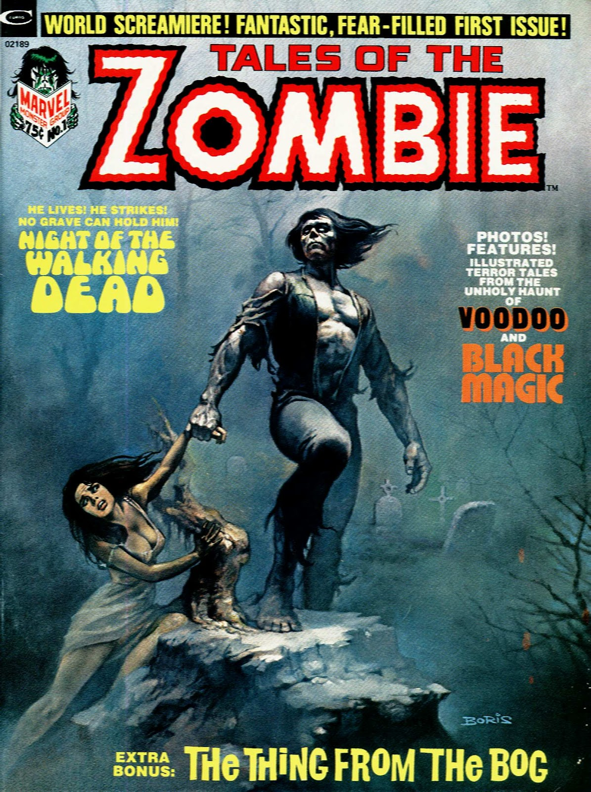 Zombie (1973) 1 Page 1