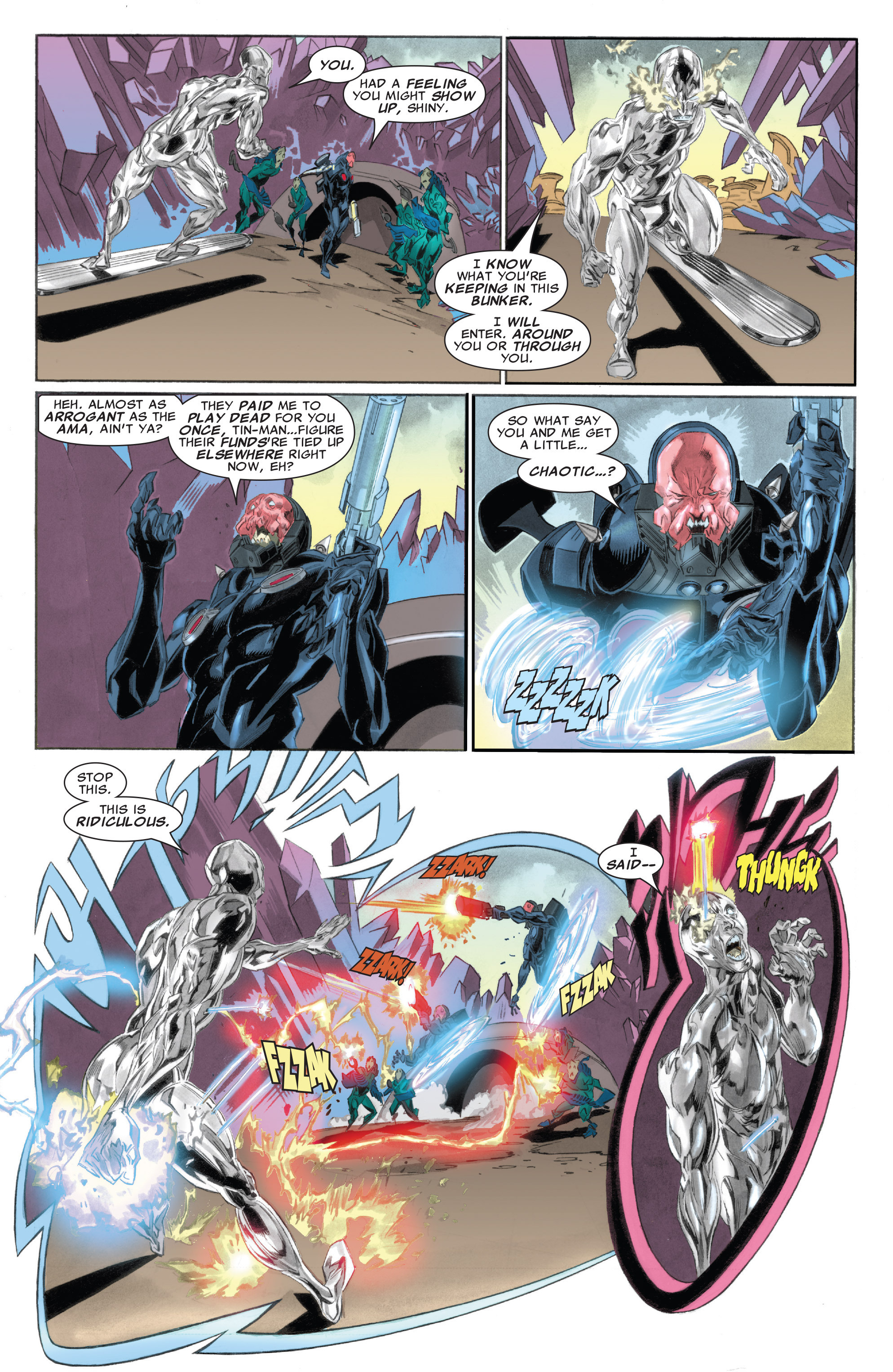 Read online Silver Surfer: In Thy Name comic -  Issue #4 - 17
