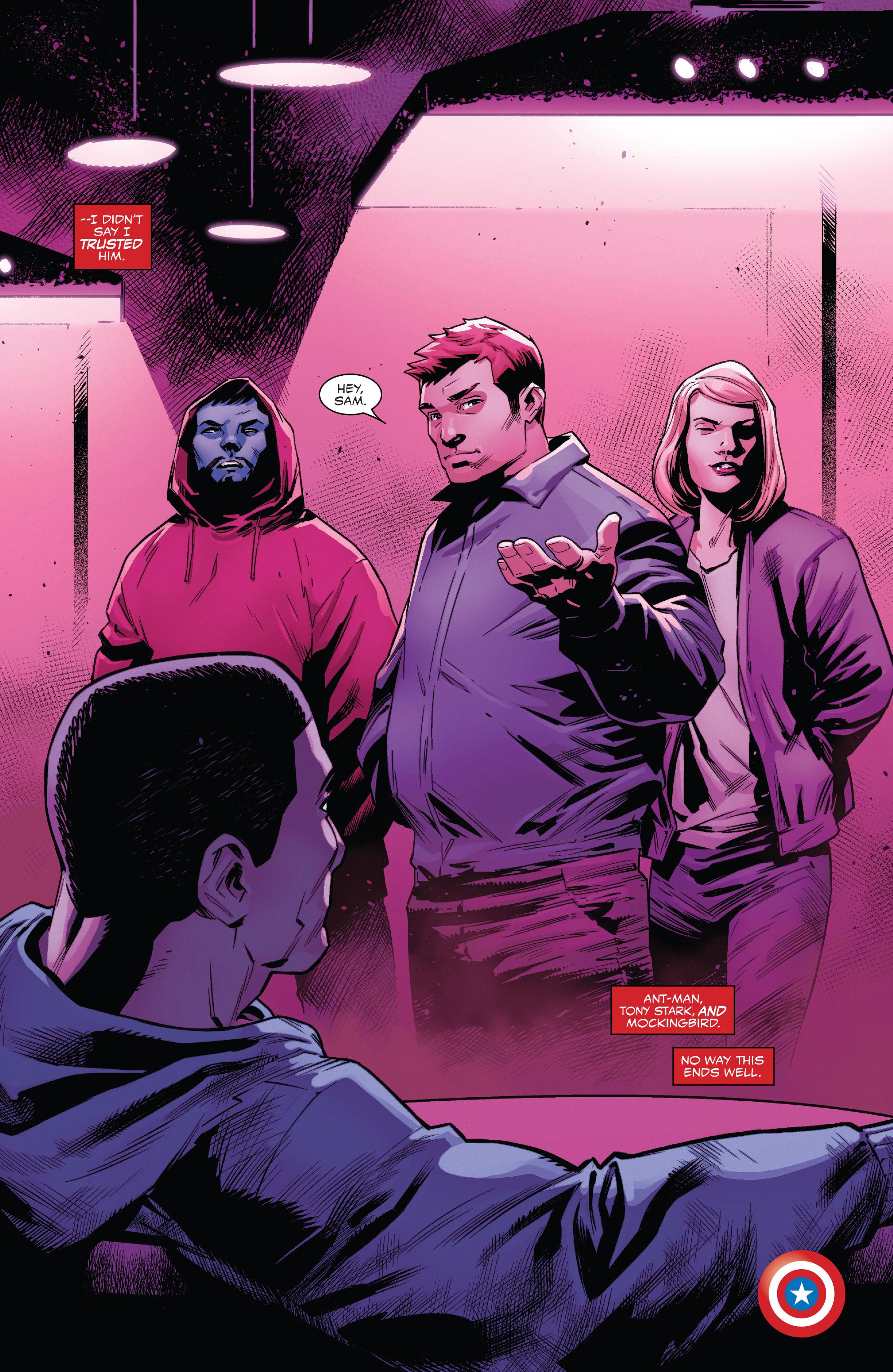 Read online Captain America: Sam Wilson comic -  Issue #22 - 21