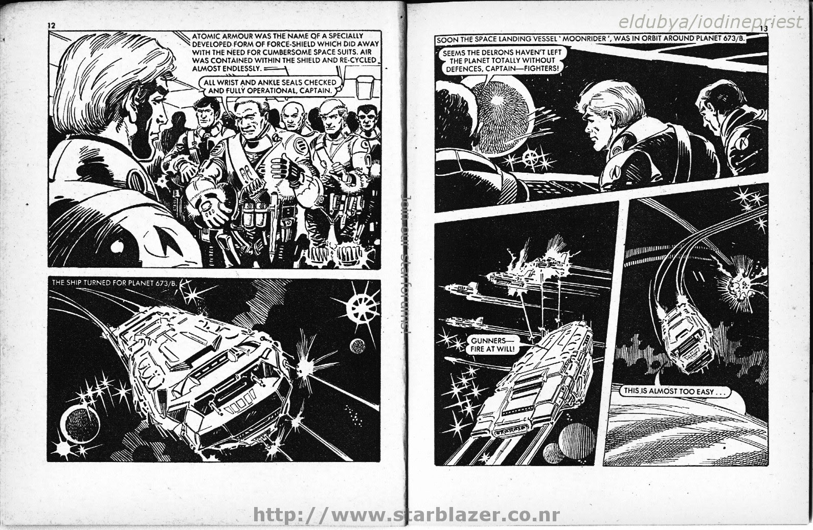 Starblazer issue 65 - Page 8