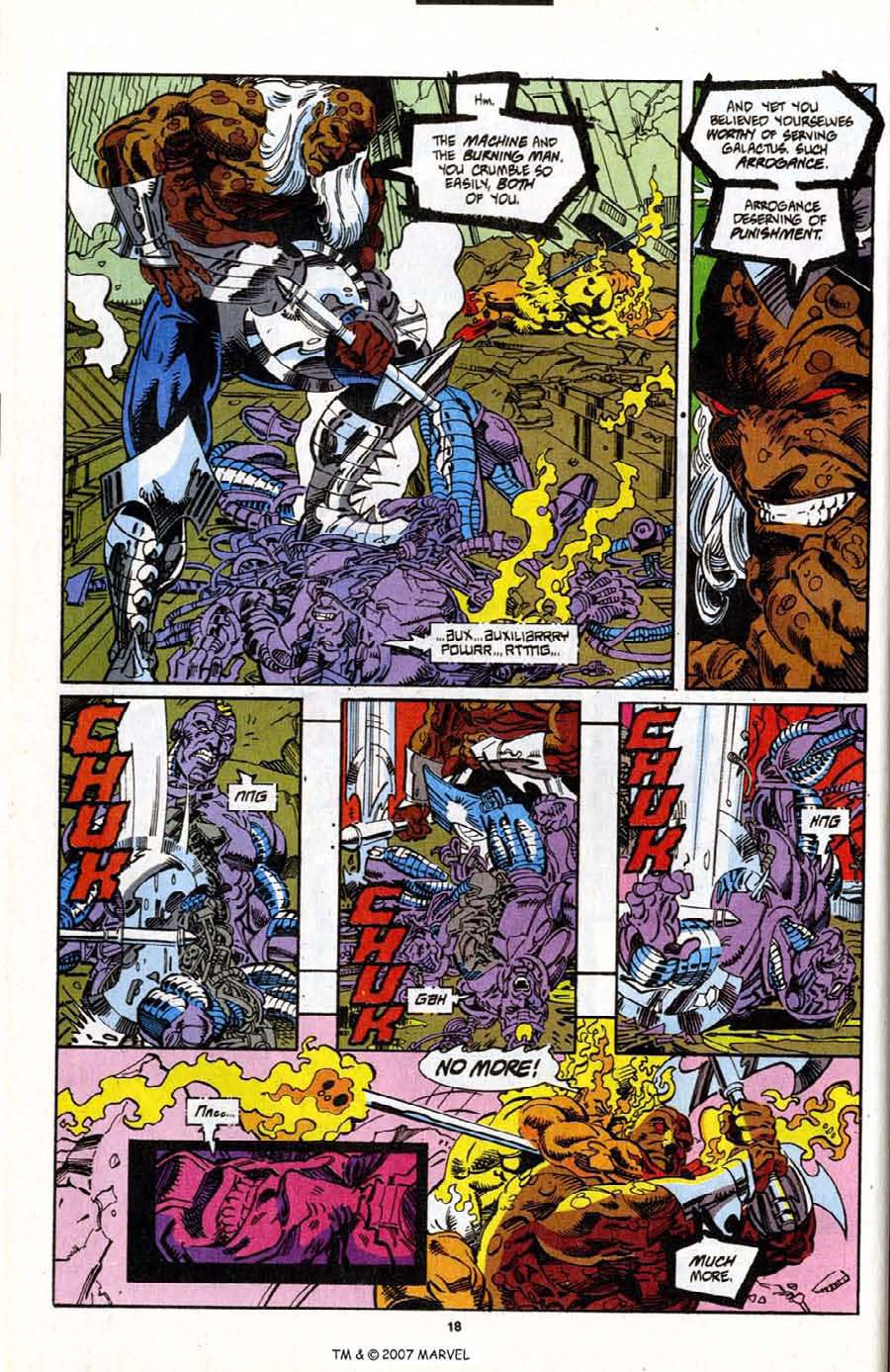 Read online Silver Surfer (1987) comic -  Issue # _Annual 7 - 20