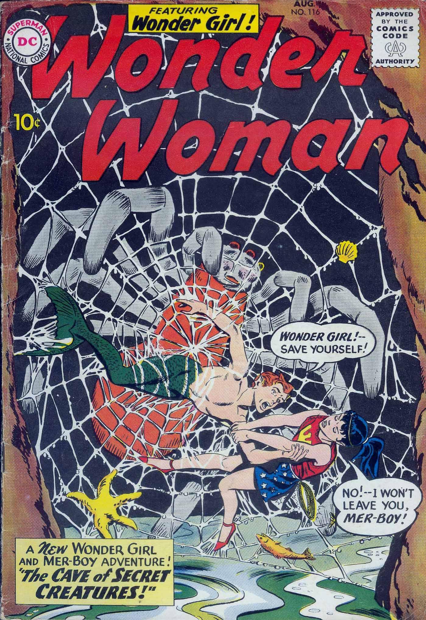 Read online Wonder Woman (1942) comic -  Issue #116 - 1