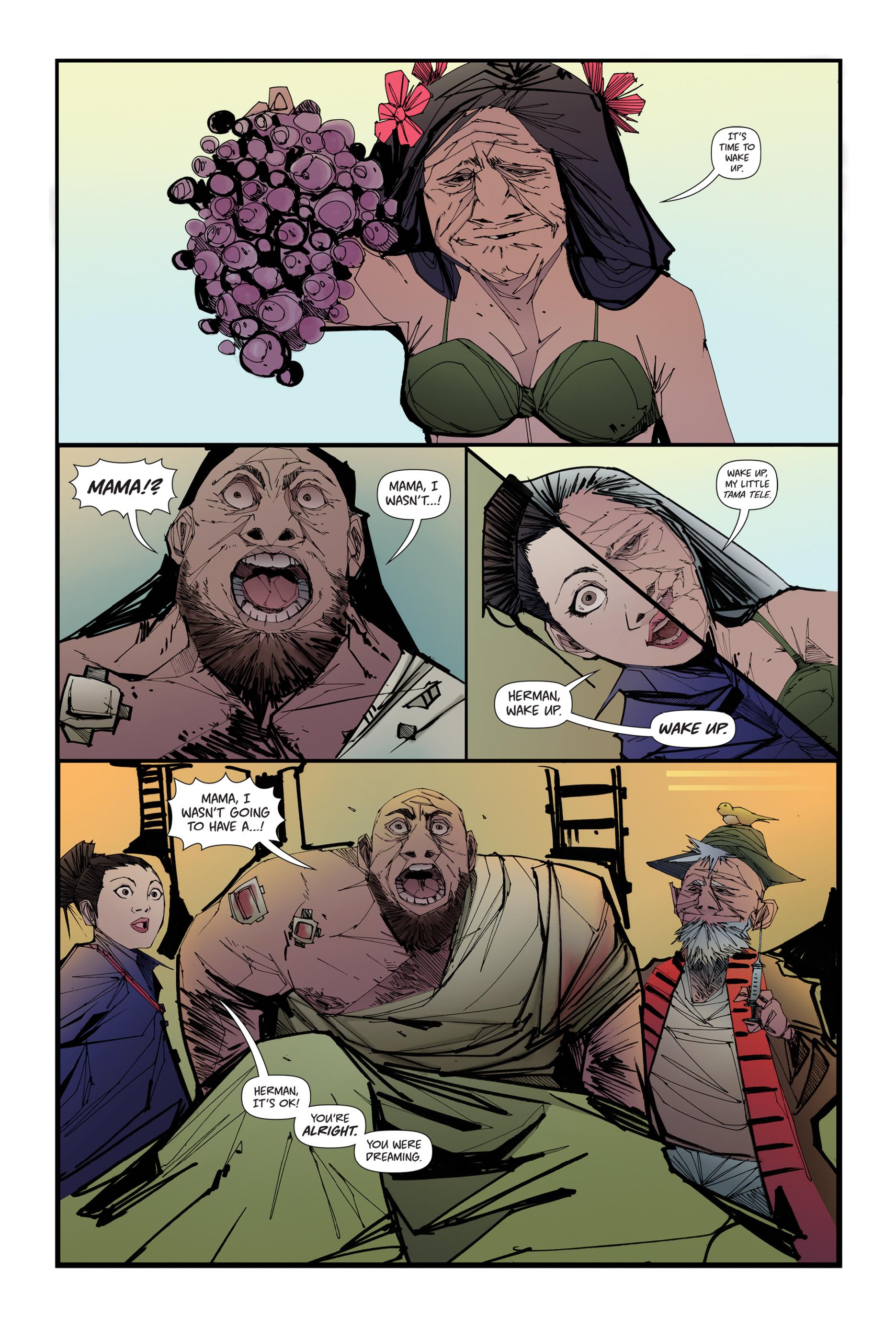 Read online Scrimshaw comic -  Issue #4 - 4