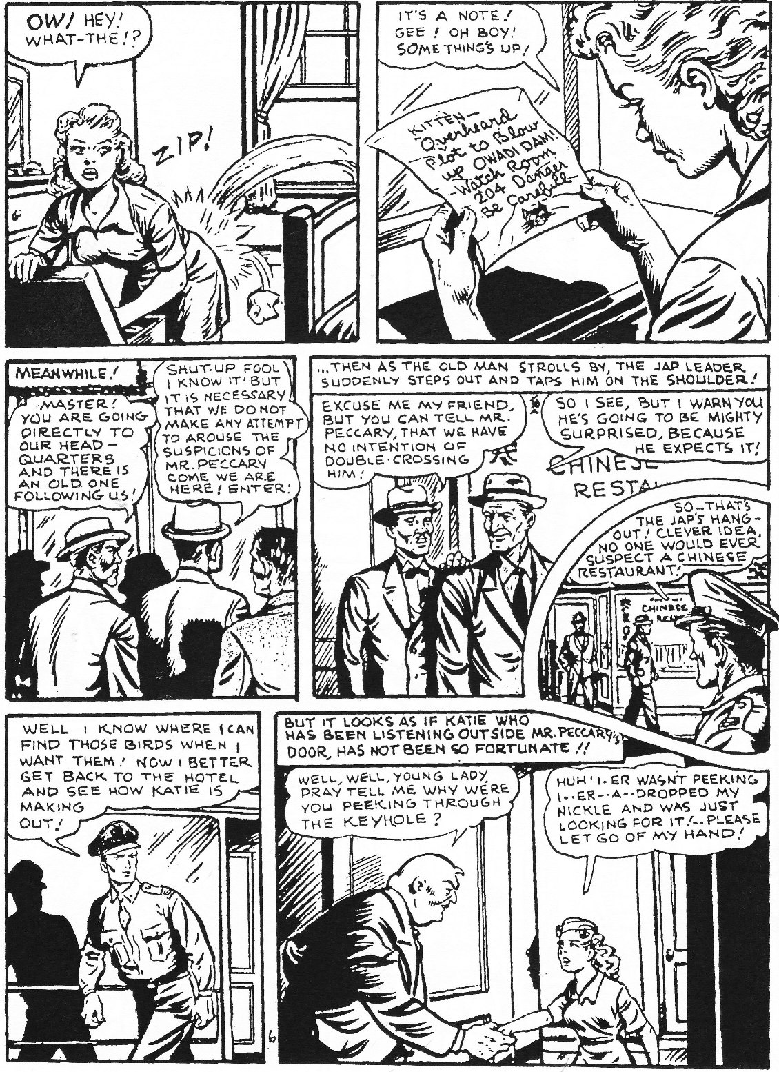 Read online Men of Mystery Comics comic -  Issue #65 - 62