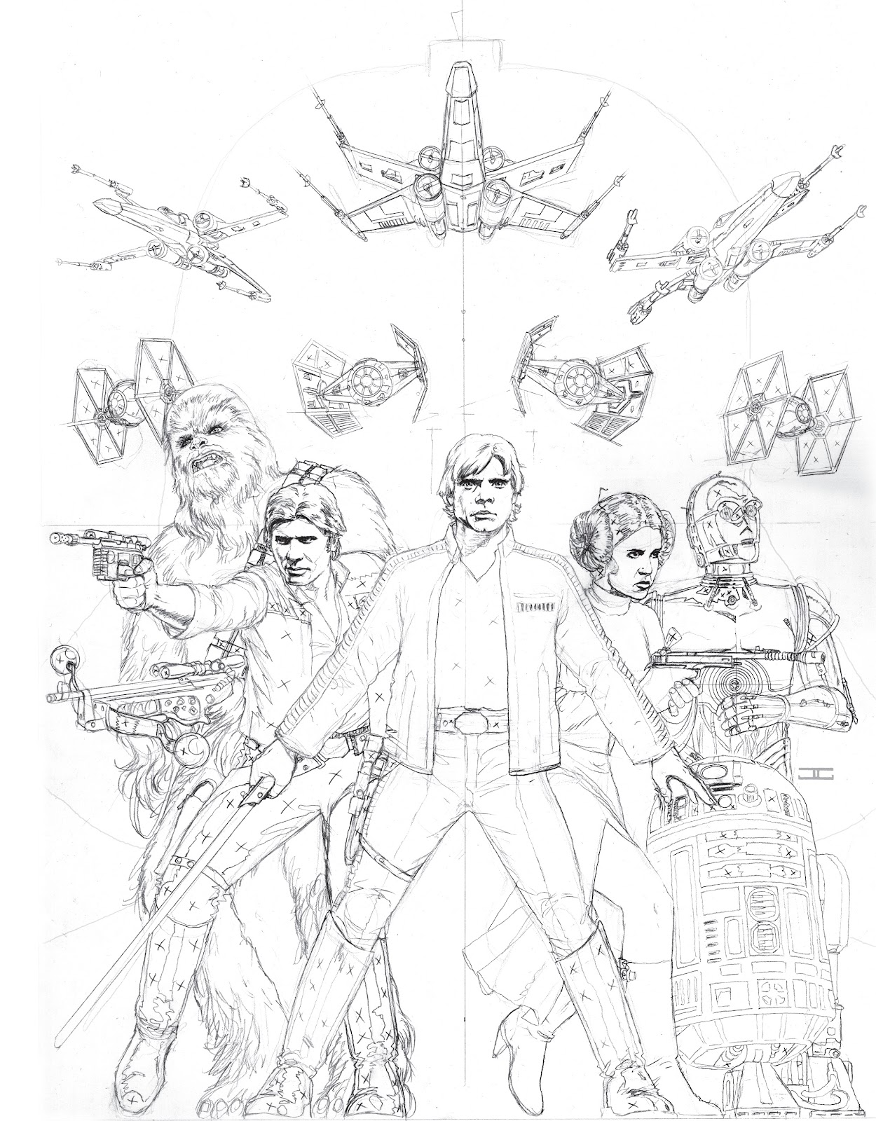 Read online The Marvel Art of Star Wars comic -  Issue # TPB (Part 1) - 2