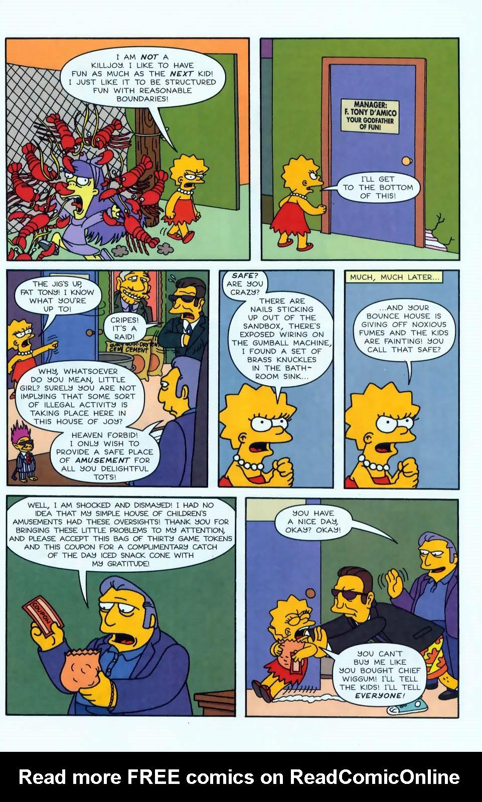 Read online Simpsons Comics comic -  Issue #50 - 72
