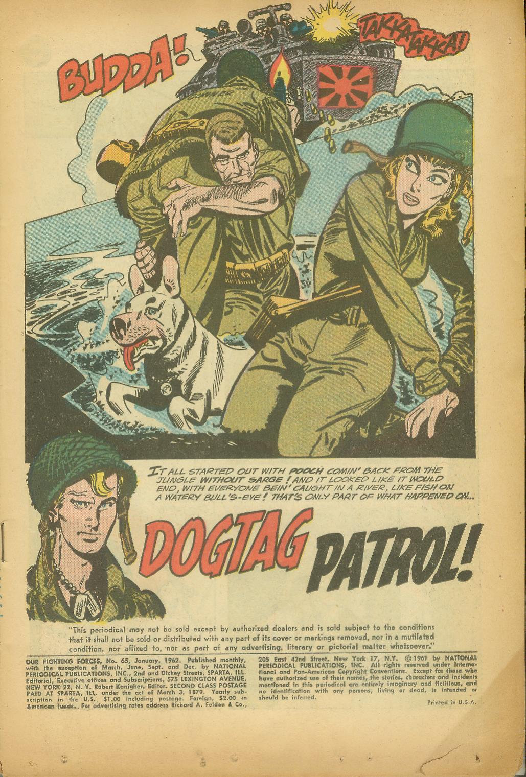 Our Fighting Forces (1954) issue 65 - Page 3
