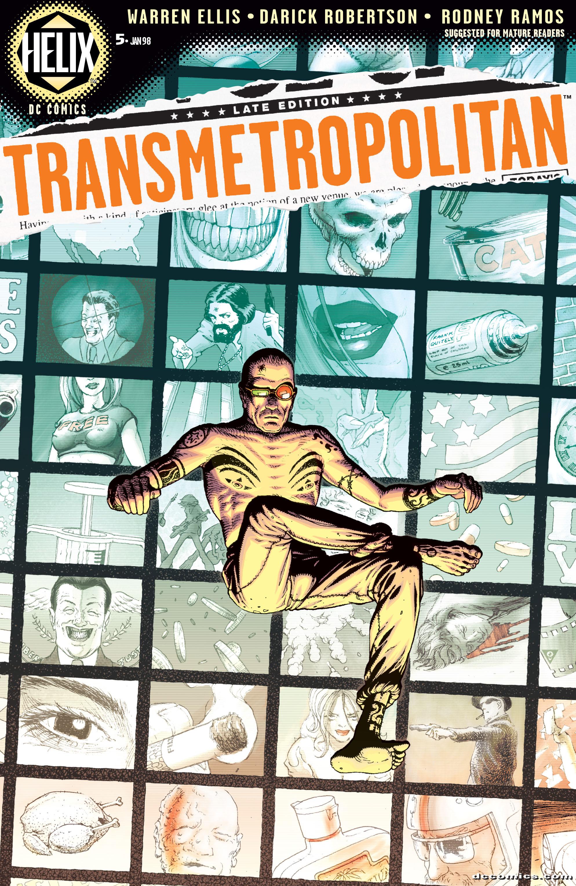 Read online Transmetropolitan comic -  Issue #5 - 1