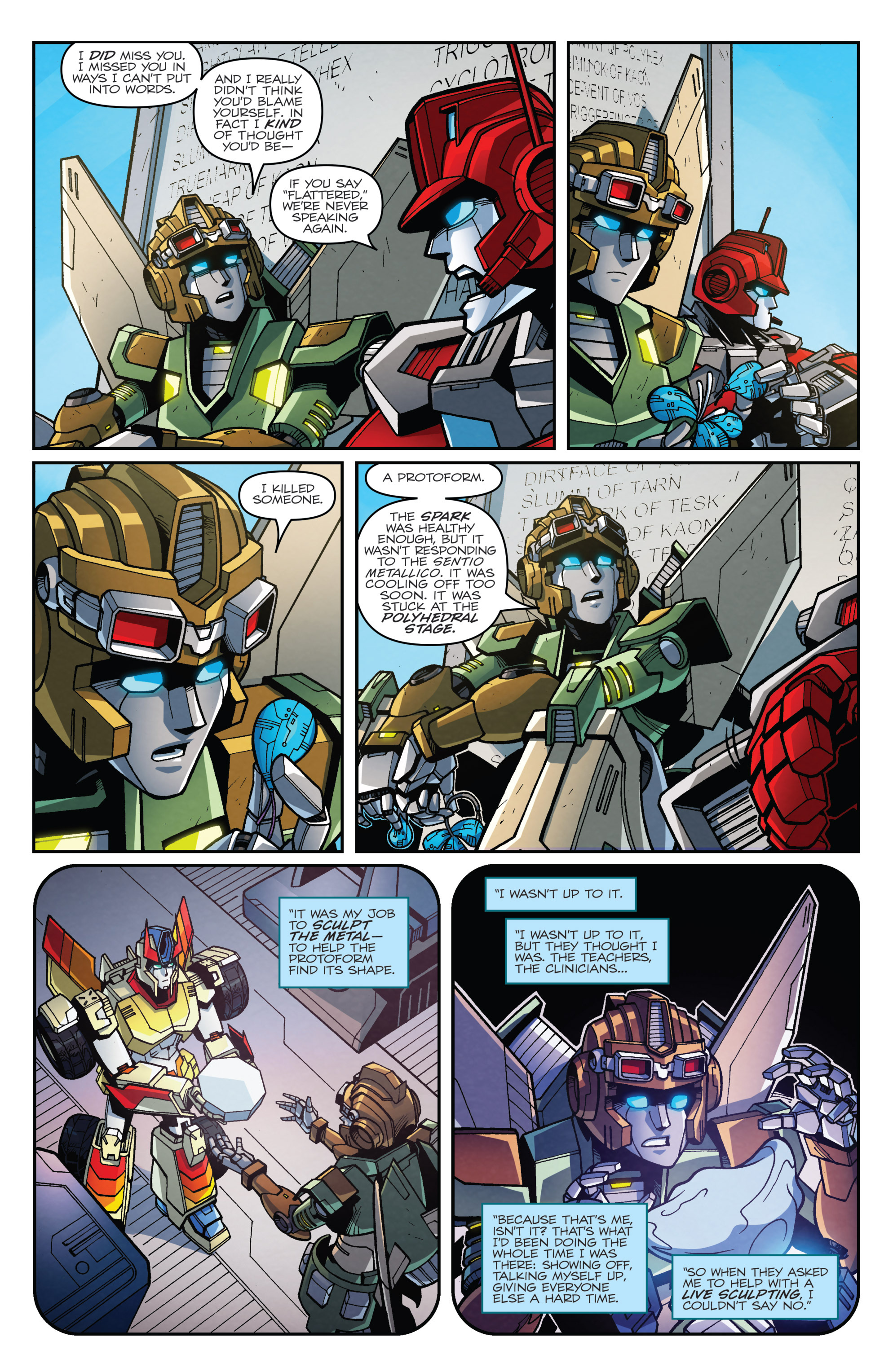 Read online Transformers: Lost Light comic -  Issue #4 - 12