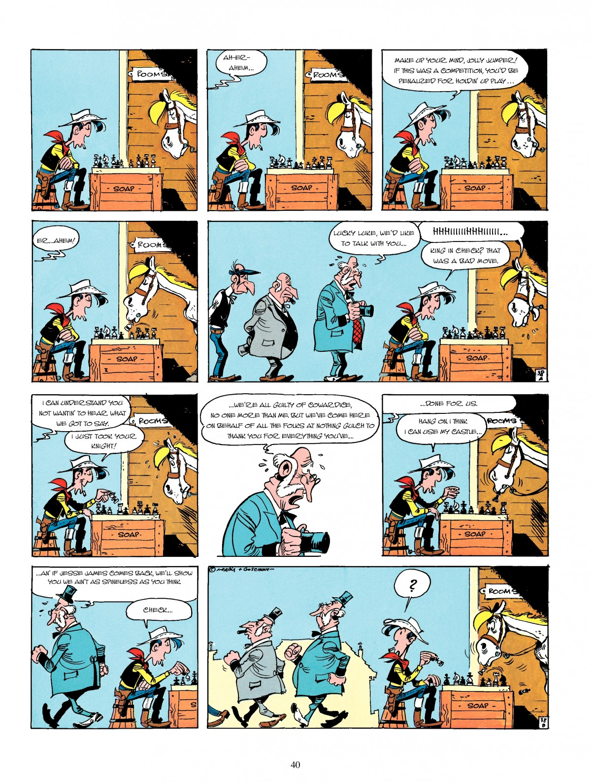 Read online A Lucky Luke Adventure comic -  Issue #4 - 42
