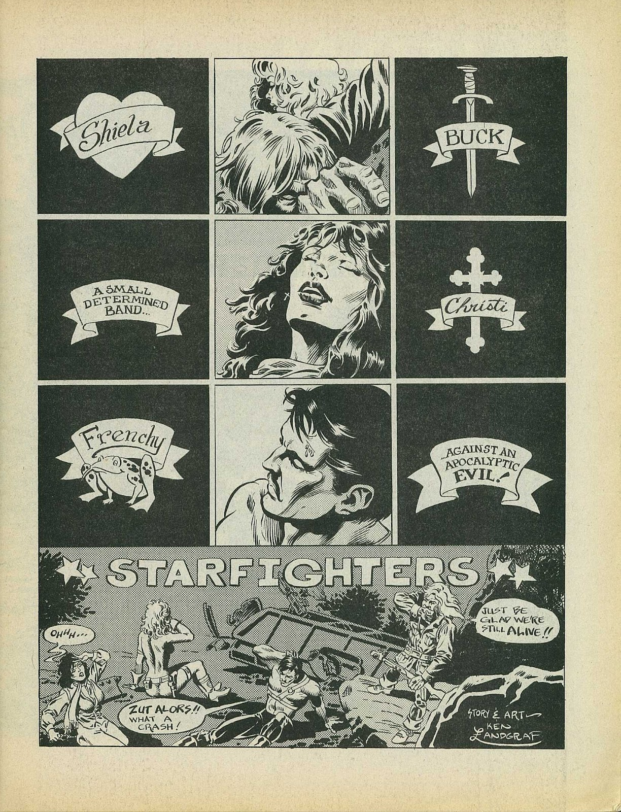 Star Fighters issue 4 - Page 3