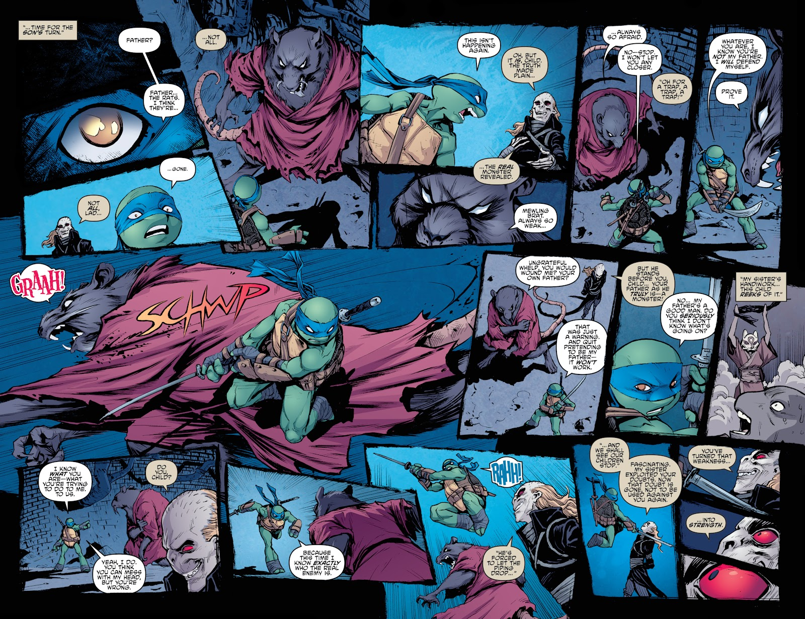 Read online Teenage Mutant Ninja Turtles: The IDW Collection comic -  Issue # TPB 4 (Part 3) - 94