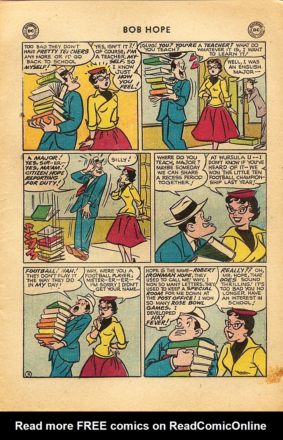 The Adventures of Bob Hope issue 42 - Page 5