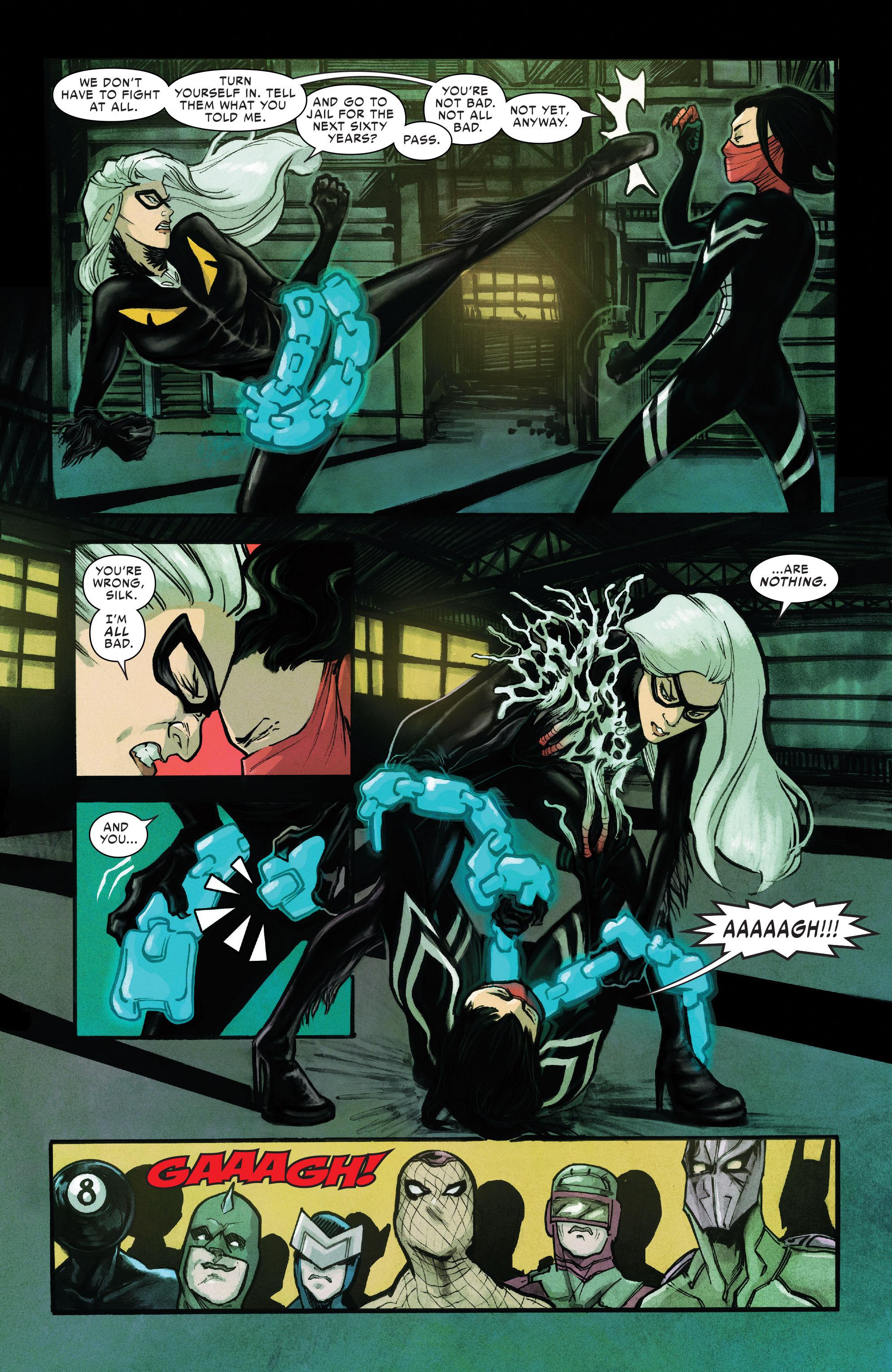 Read online Silk (2016) comic -  Issue #10 - 14
