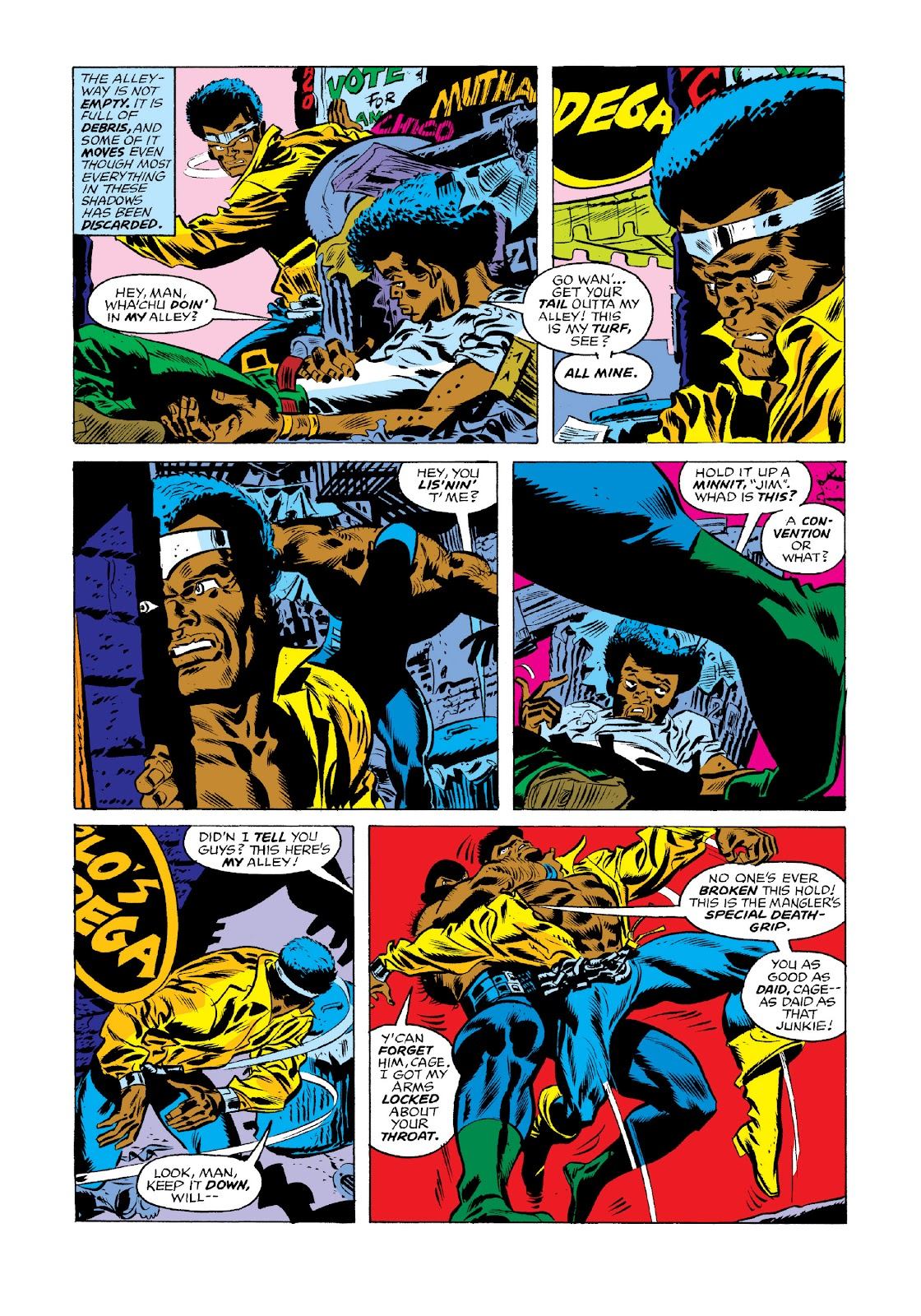 Read online Marvel Masterworks: Luke Cage, Power Man comic -  Issue # TPB 3 (Part 1) - 55