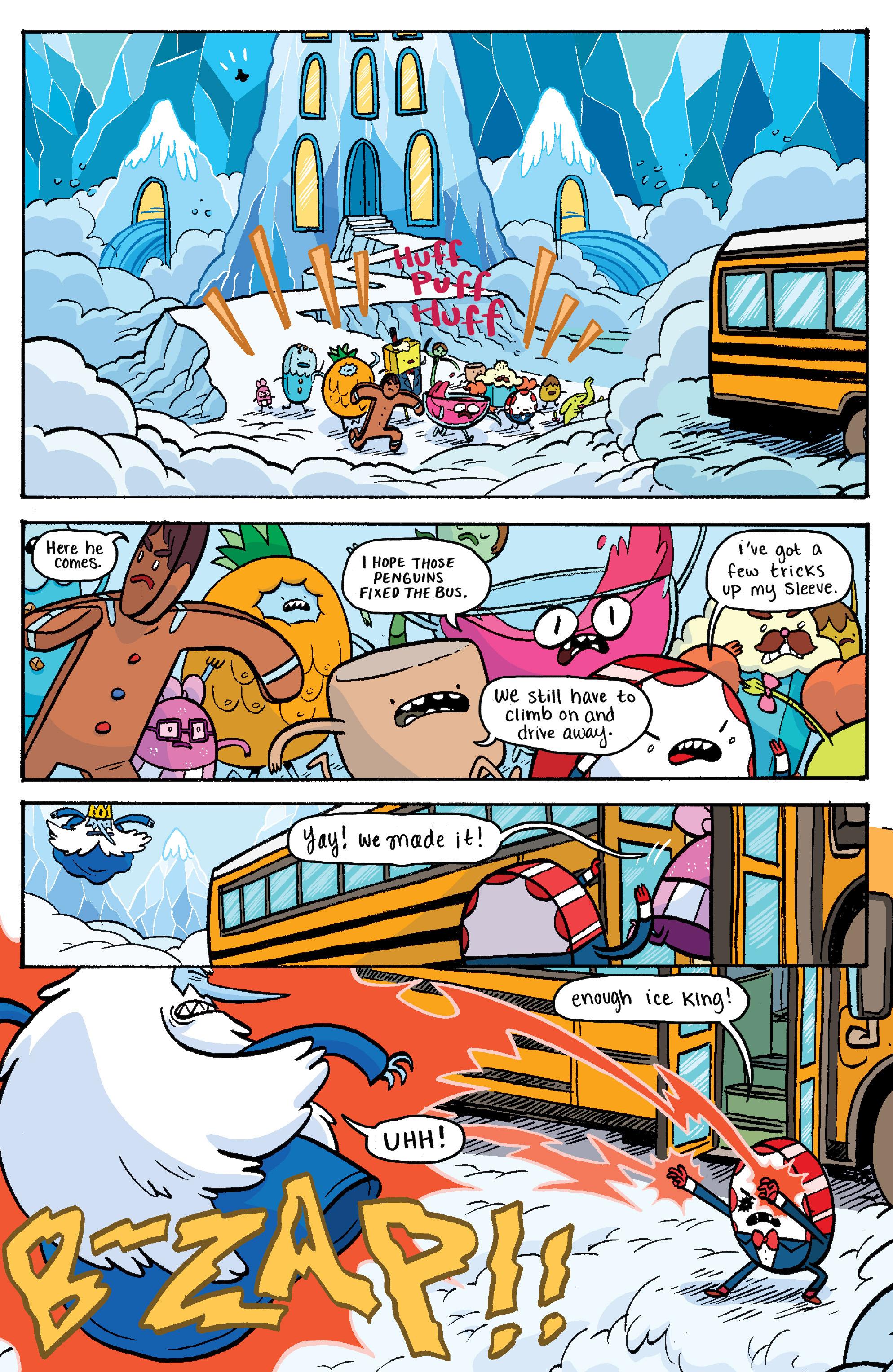 Read online Adventure Time: Banana Guard Academ comic -  Issue #3 - 22