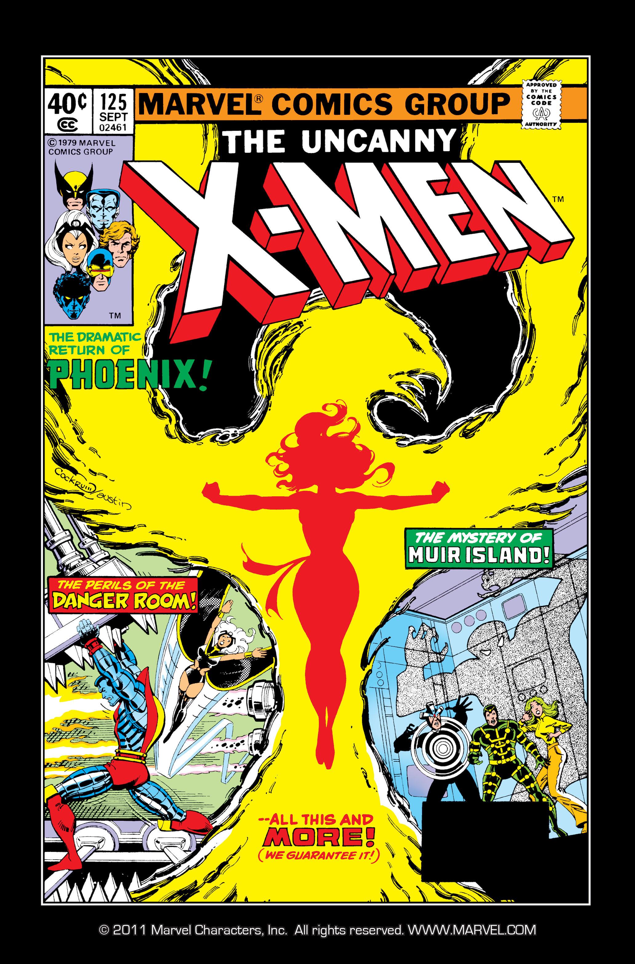 Uncanny X-Men (1963) 125 Page 1