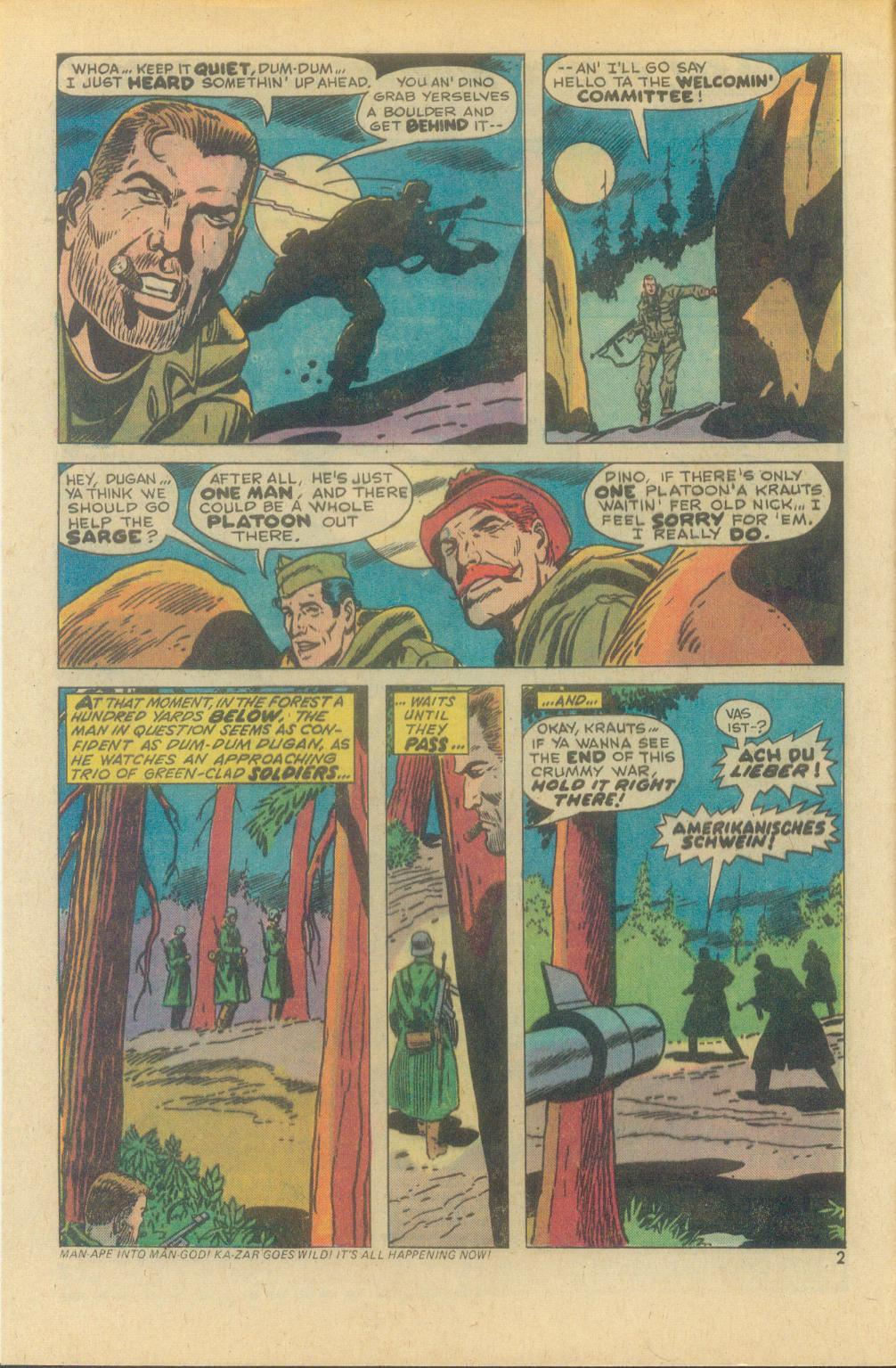 Read online Sgt. Fury comic -  Issue #119 - 4