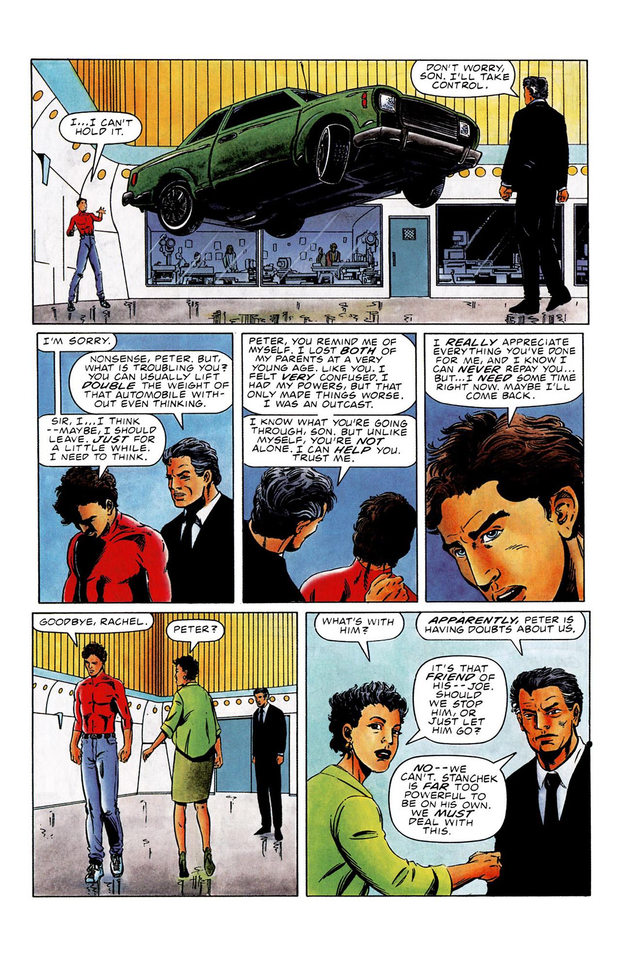 Read online Harbinger (1992) comic -  Issue #0 - 9