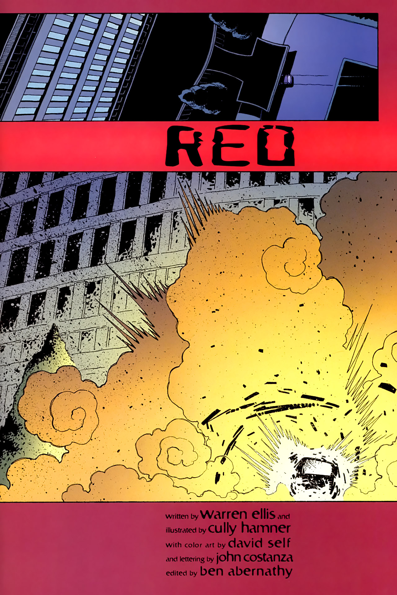 Read online Red comic -  Issue #3 - 6