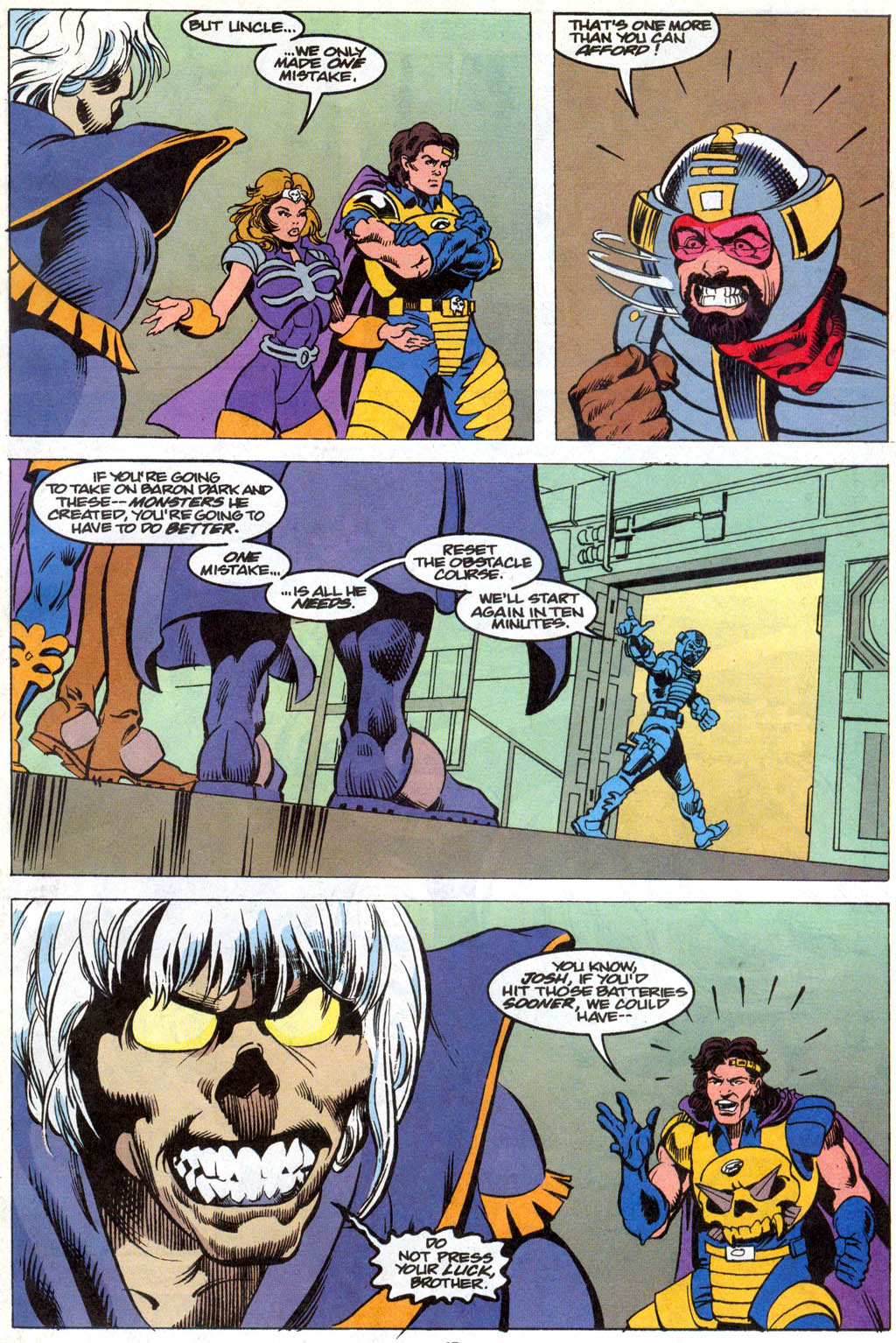 Skeleton Warriors Issue #1 #1 - English 12