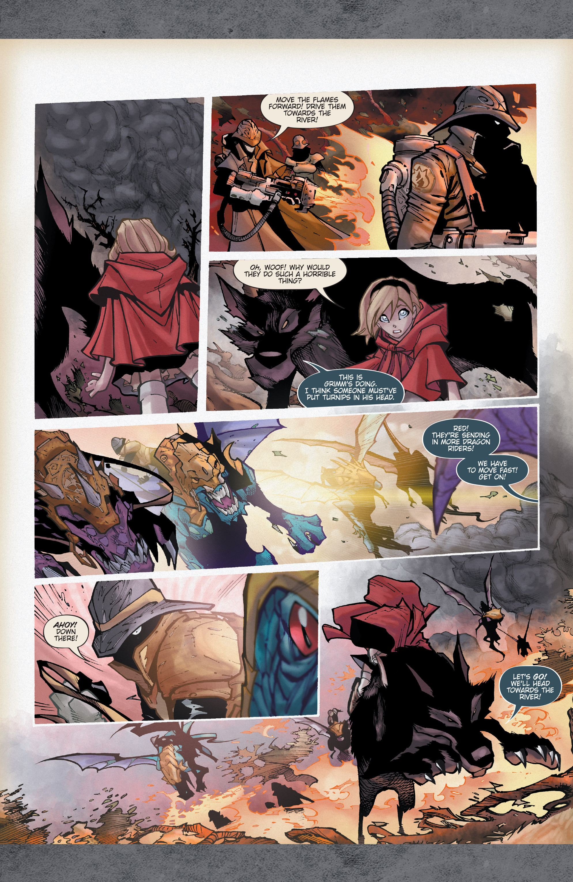 Read online Fairy Quest: Outcasts comic -  Issue #1 - 18