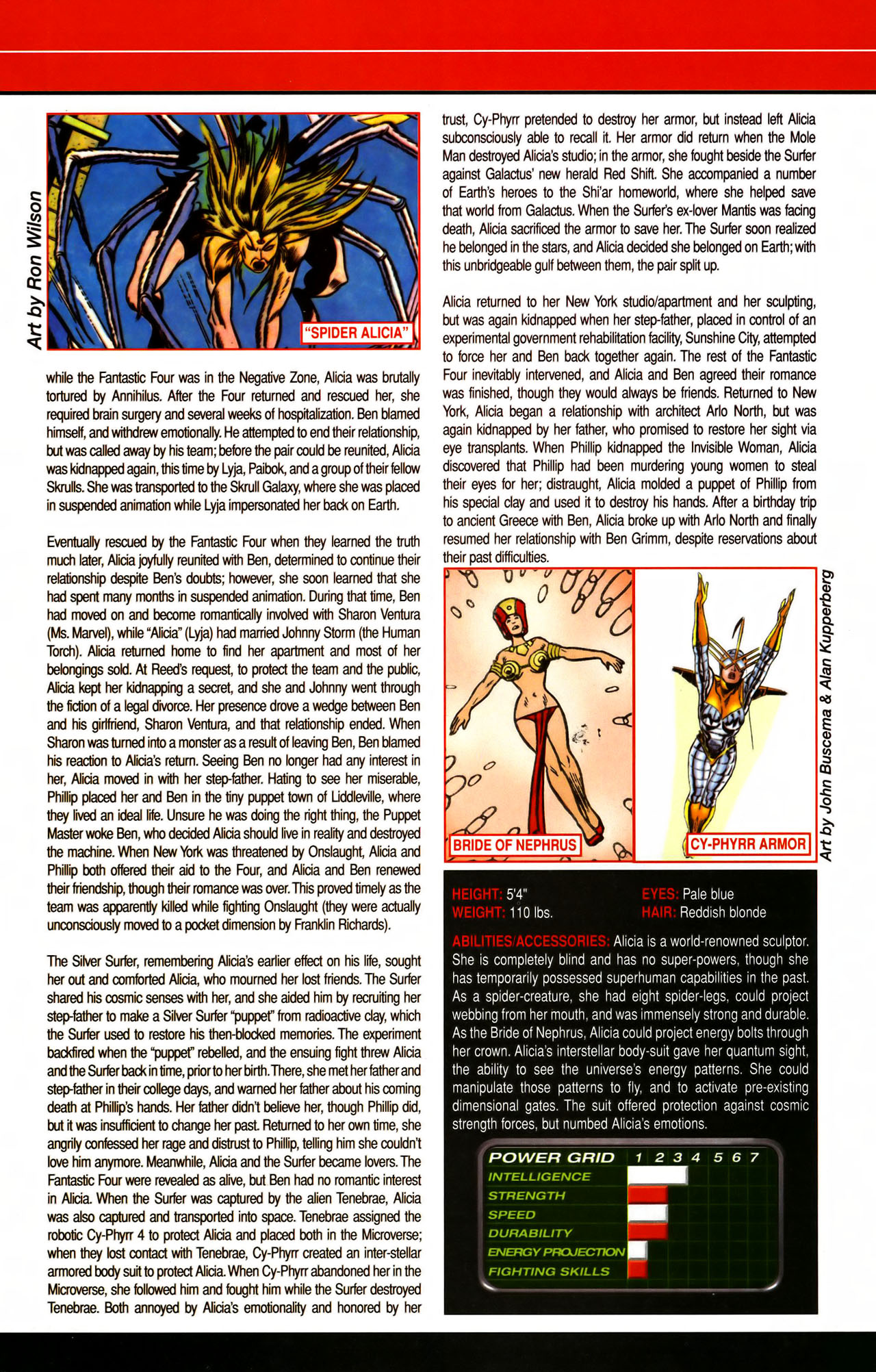 Read online All-New Official Handbook of the Marvel Universe A to Z comic -  Issue #7 - 21