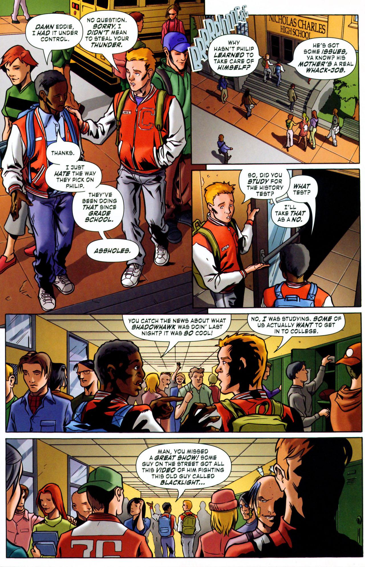 Read online ShadowHawk (2005) comic -  Issue #1 - 15