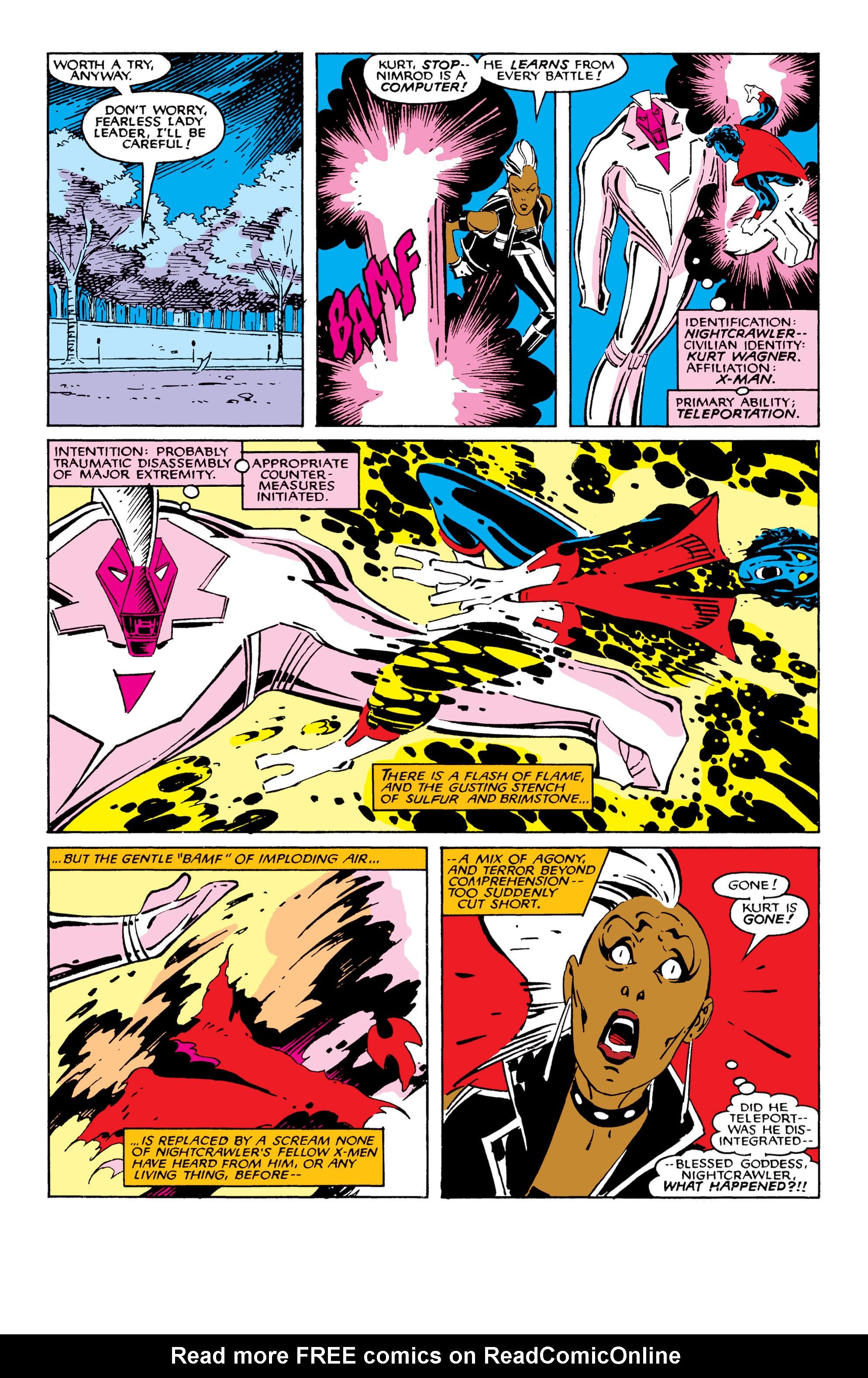 Read online Uncanny X-Men (1963) comic -  Issue #209 - 15