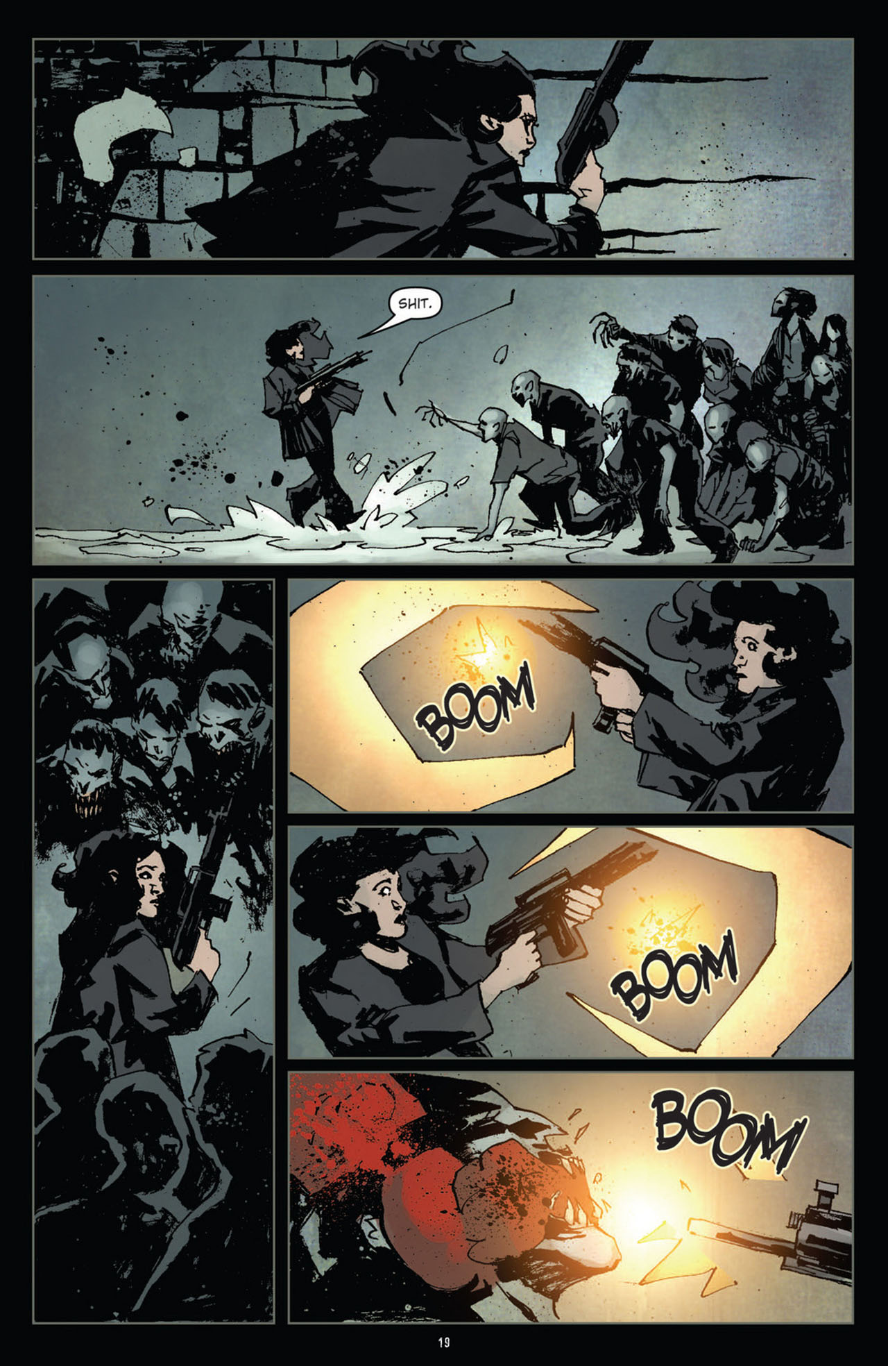 Read online 30 Days of Night (2011) comic -  Issue #10 - 20