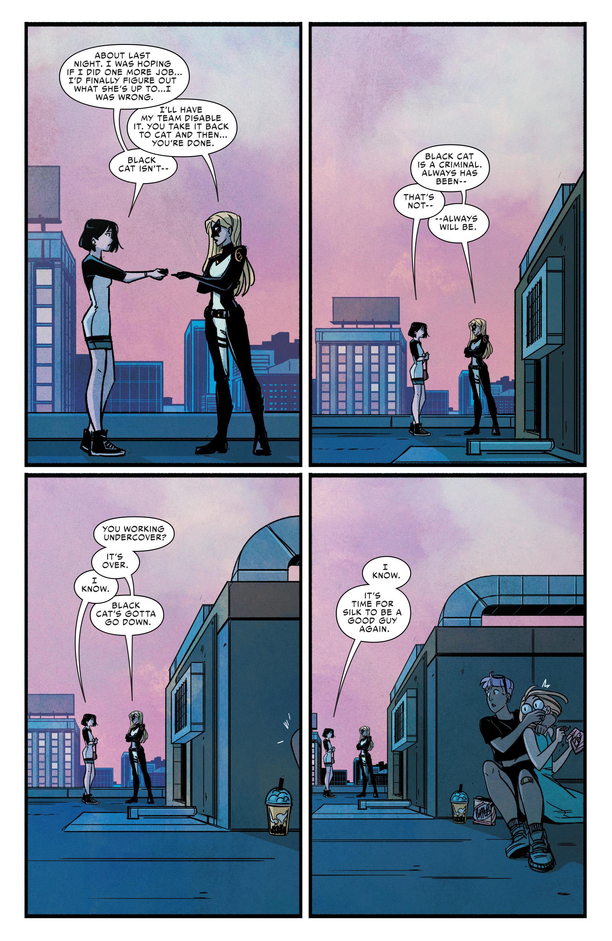 Read online Silk (2016) comic -  Issue #9 - 18