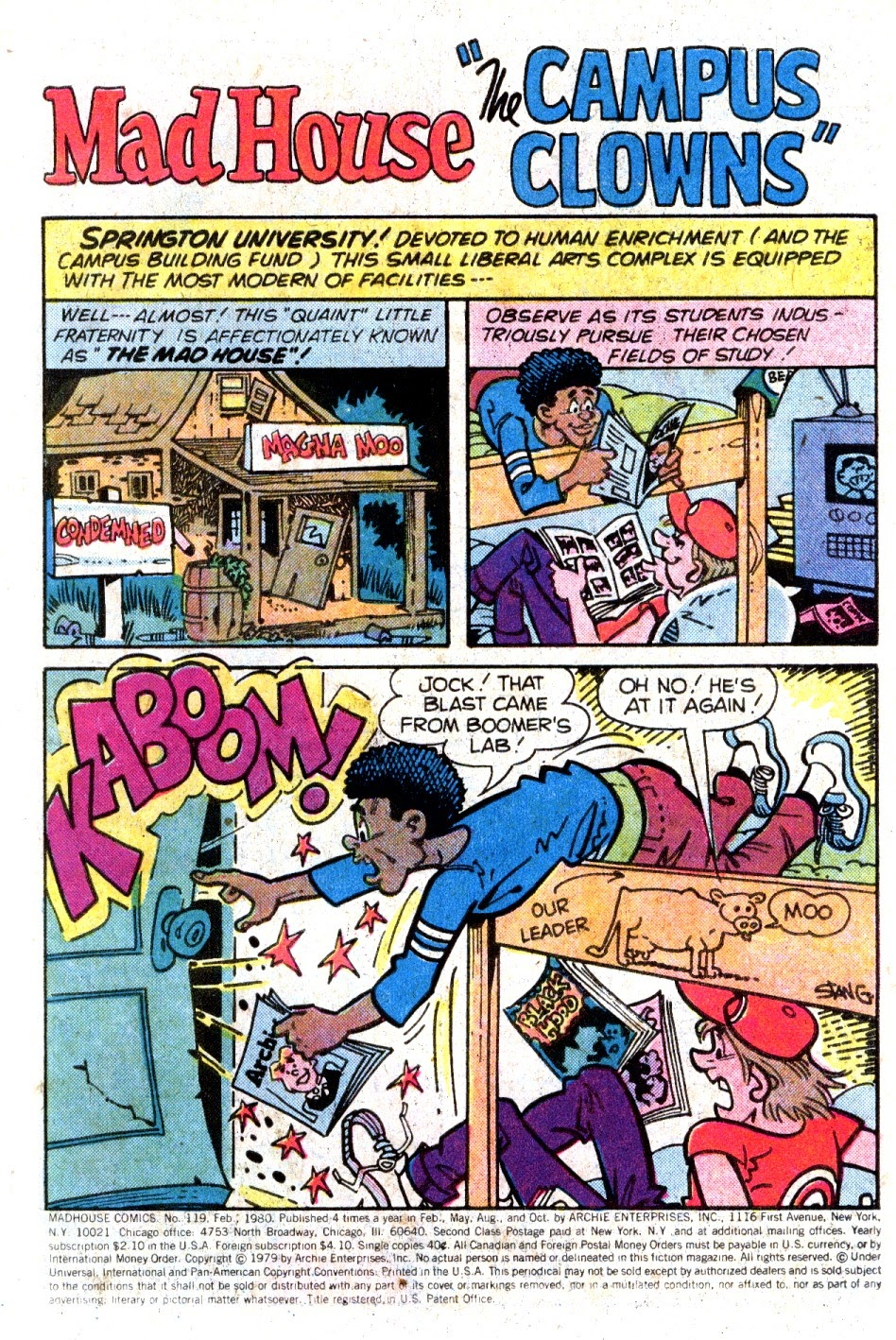 Read online Madhouse Comics comic -  Issue #119 - 3