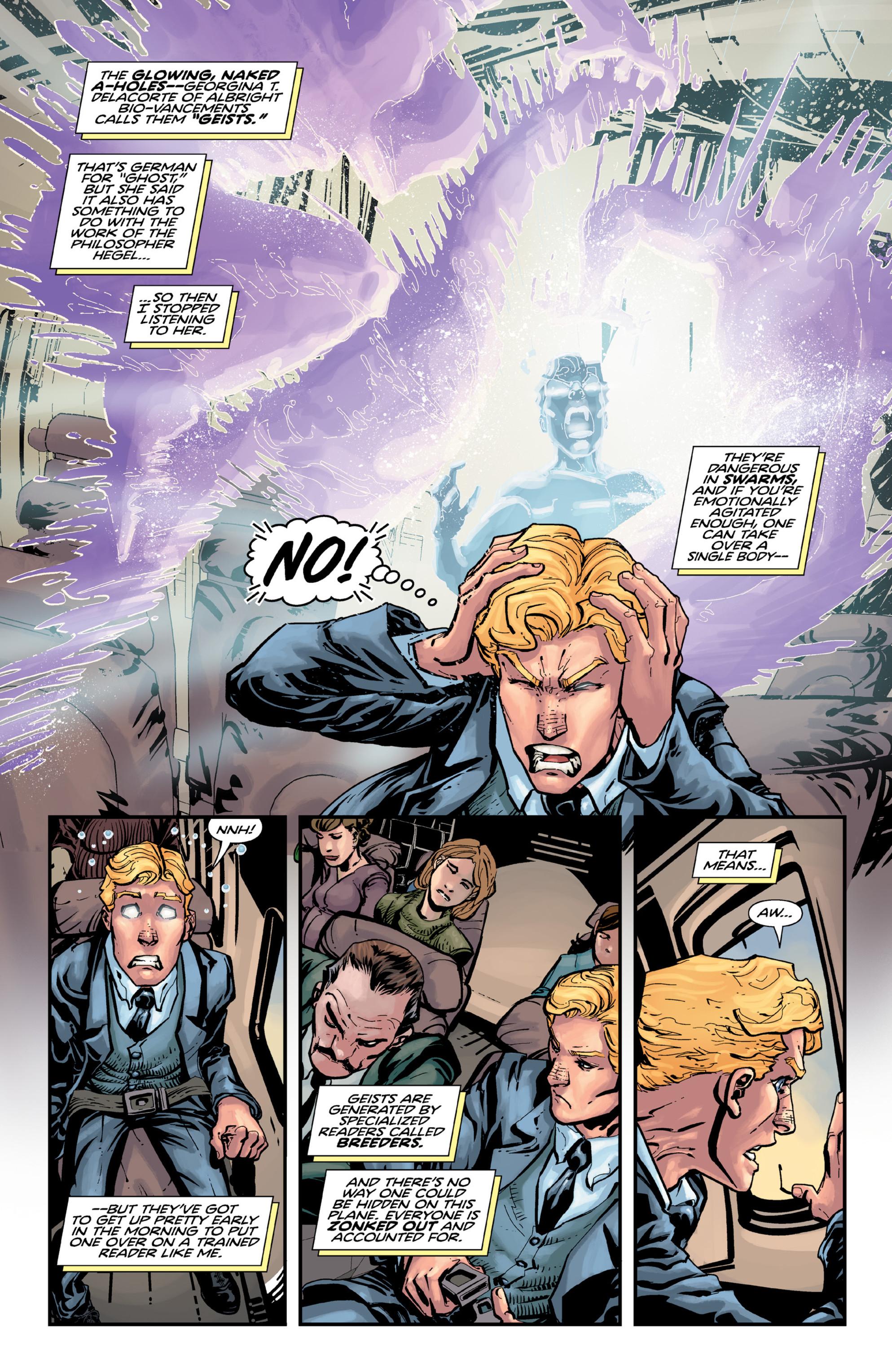 Read online Brain Boy:  The Men from G.E.S.T.A.L.T. comic -  Issue # TPB - 33