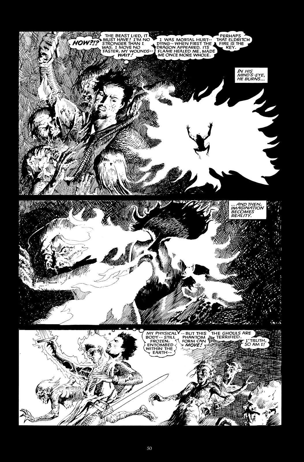 Read online The Black Dragon (2014) comic -  Issue # TPB (Part 1) - 50