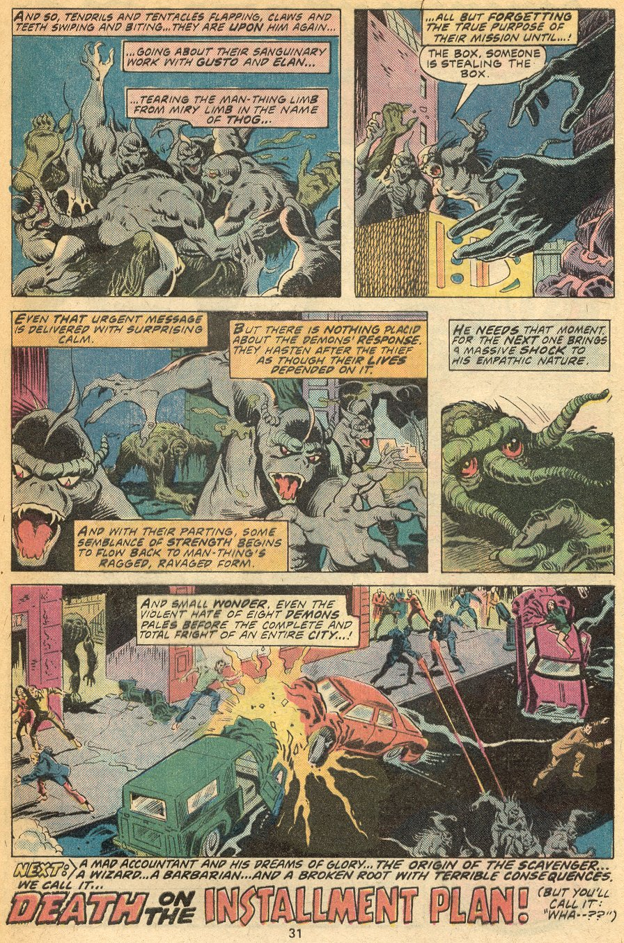 Man-Thing (1974) issue 20 - Page 22
