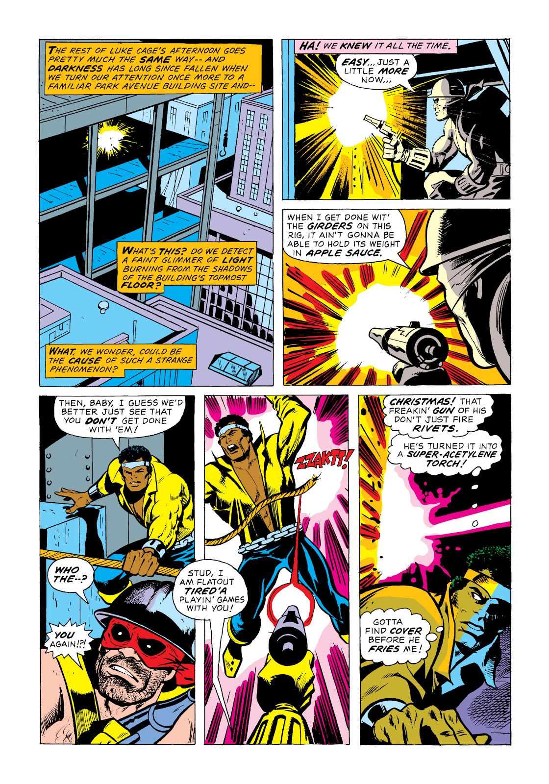 Read online Marvel Masterworks: Luke Cage, Power Man comic -  Issue # TPB 2 (Part 1) - 41