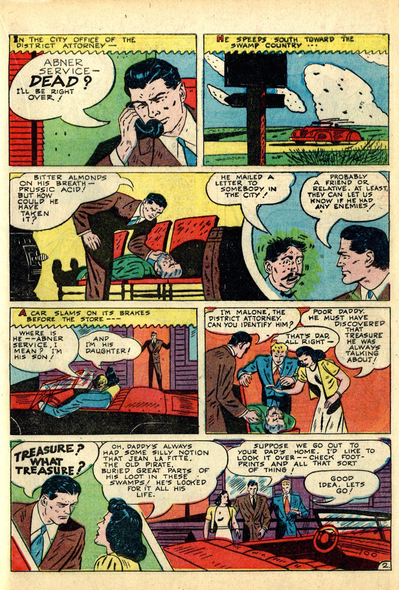 Read online Detective Comics (1937) comic -  Issue #50 - 53