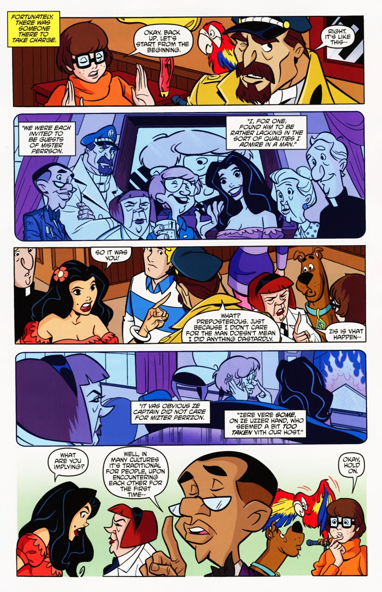 Read online Scooby-Doo: Where Are You? comic -  Issue #11 - 22
