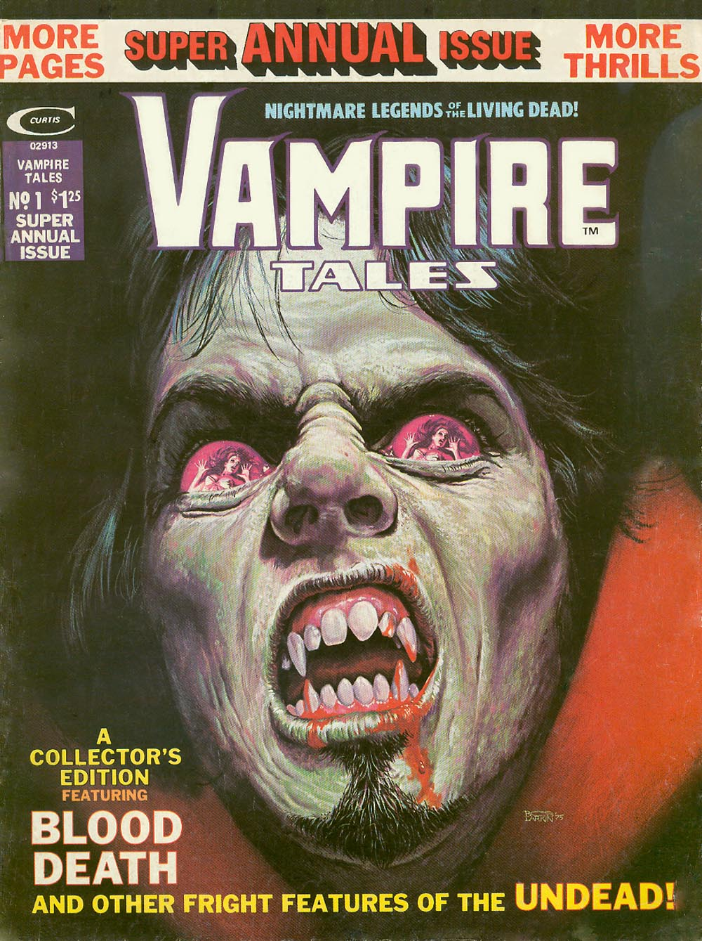 Vampire Tales issue Annual 1 - Page 1