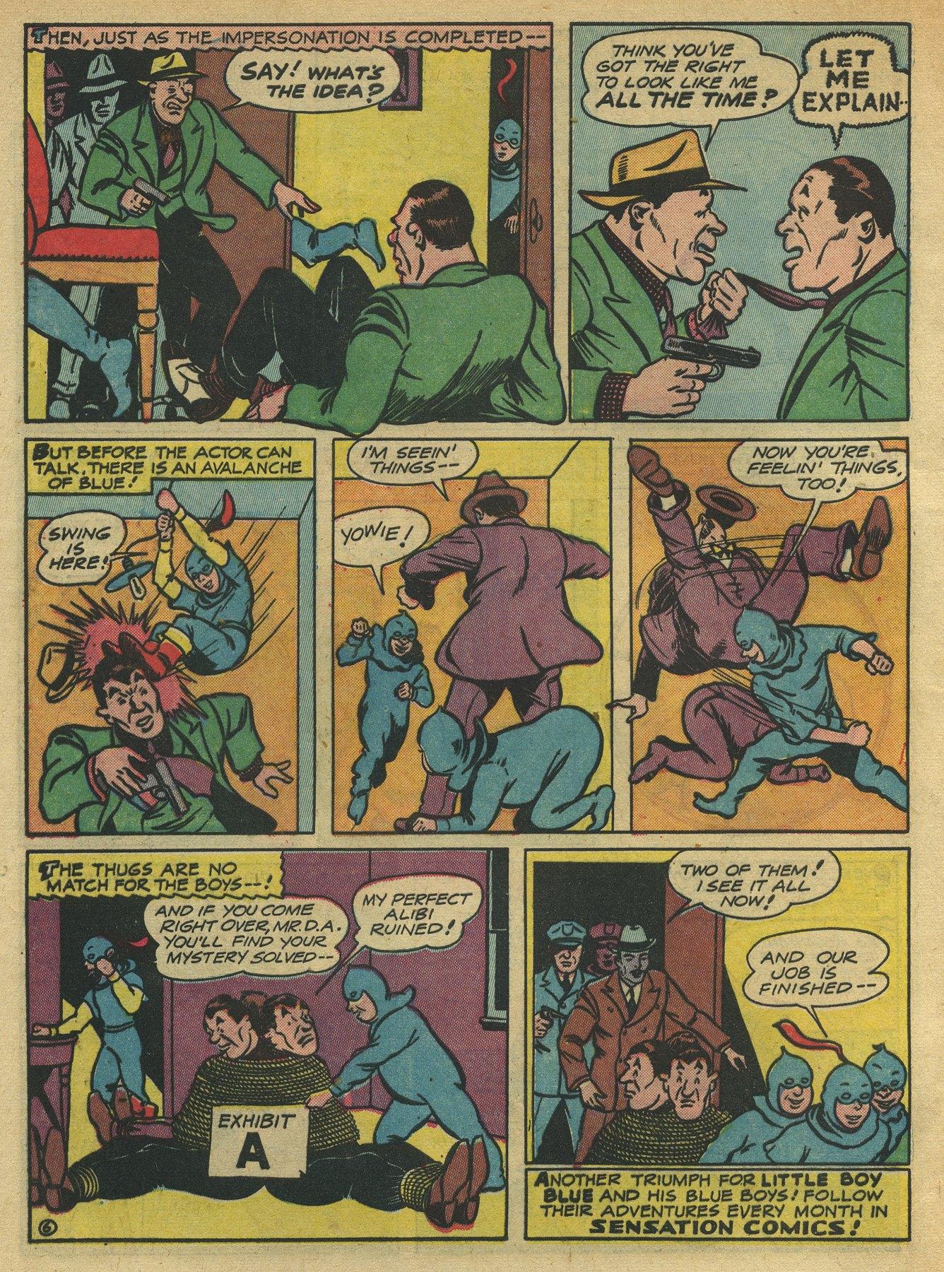Read online Sensation (Mystery) Comics comic -  Issue #10 - 54