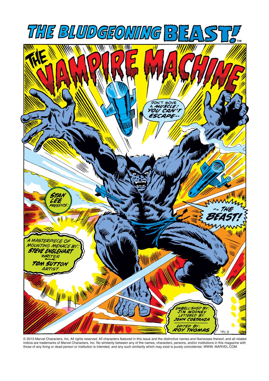 Read online Amazing Adventures (1970) comic -  Issue #14 - 2