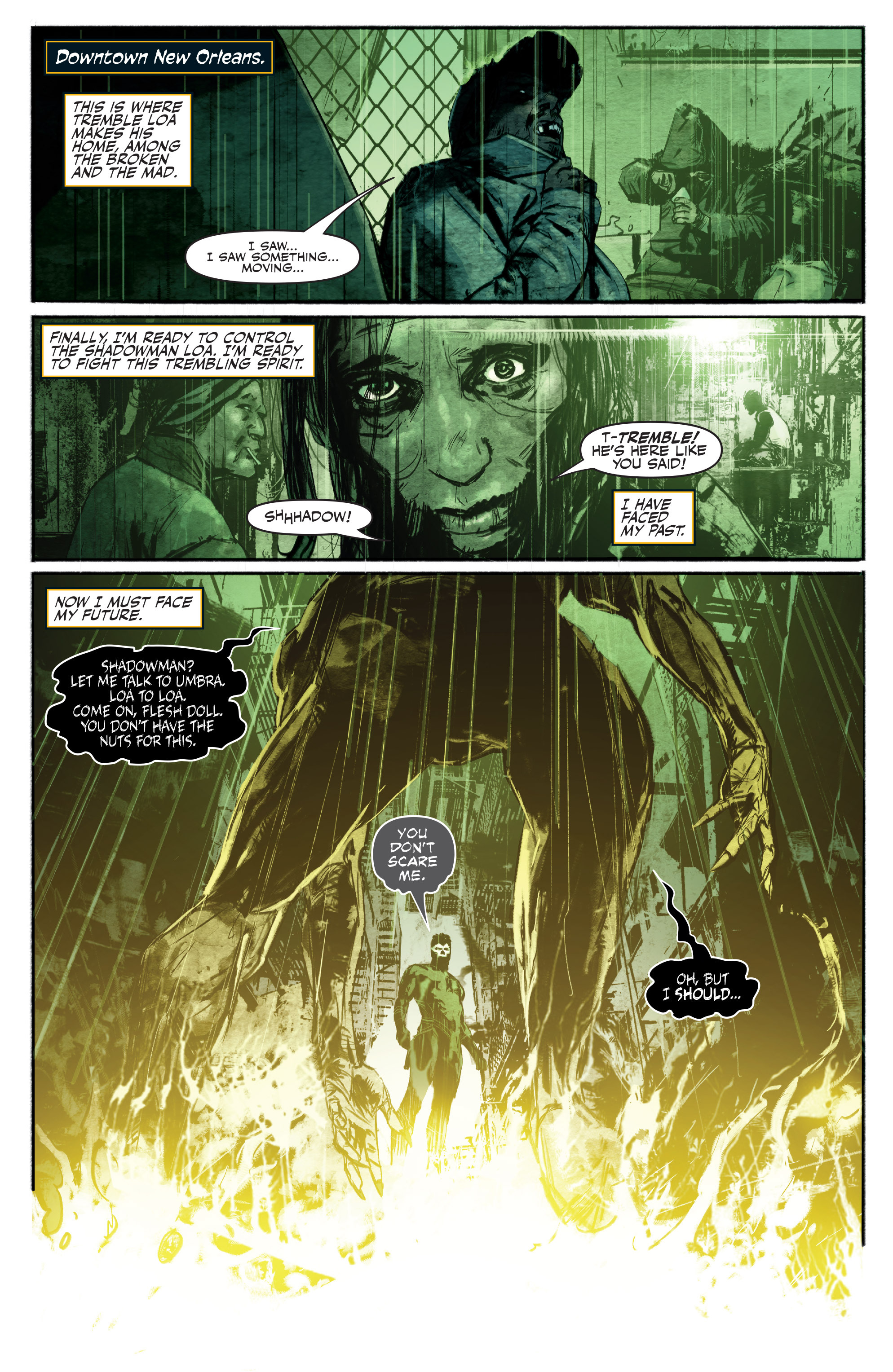 Read online Shadowman (2012) comic -  Issue #16 - 15